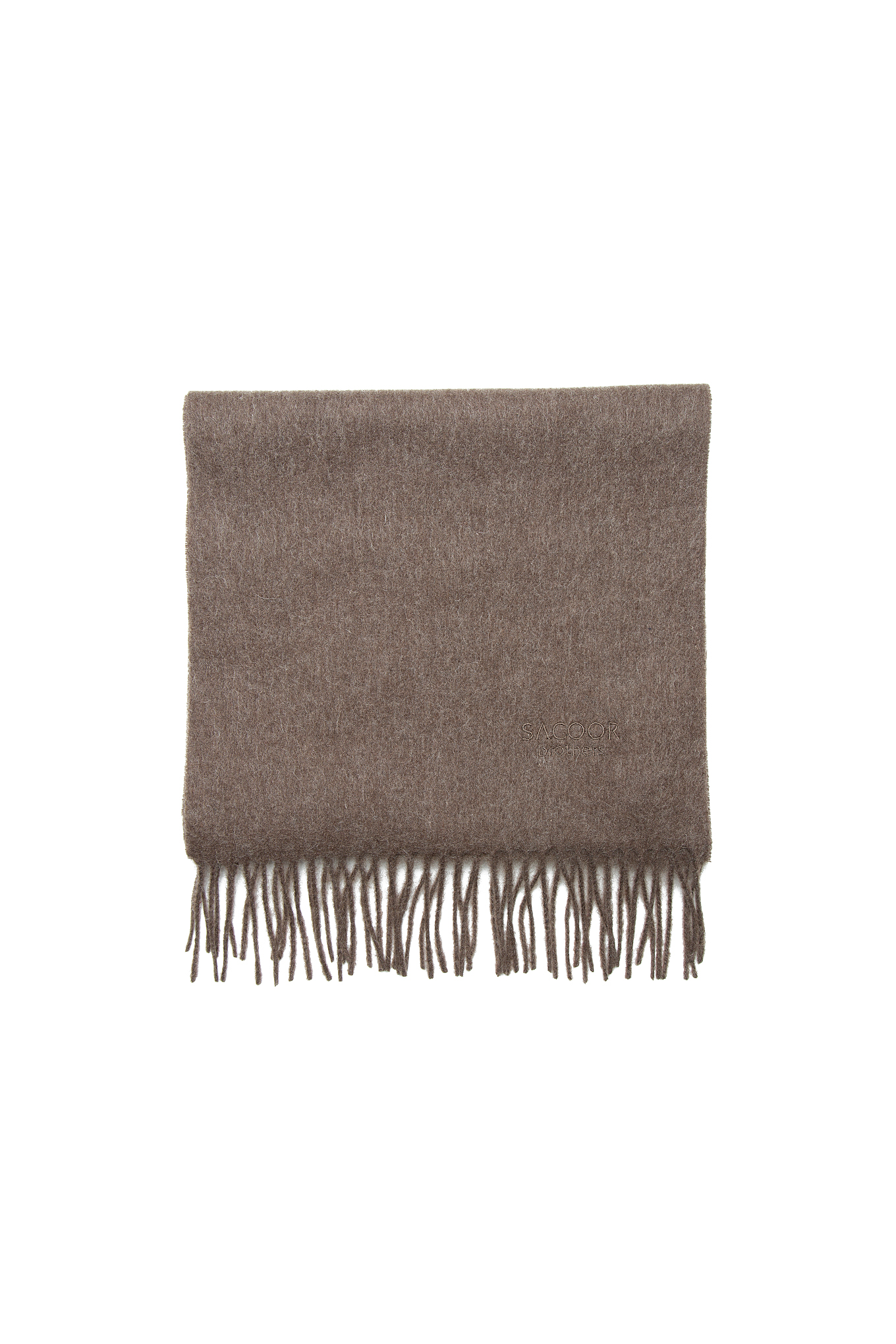 Scarf Brown Casual Man
