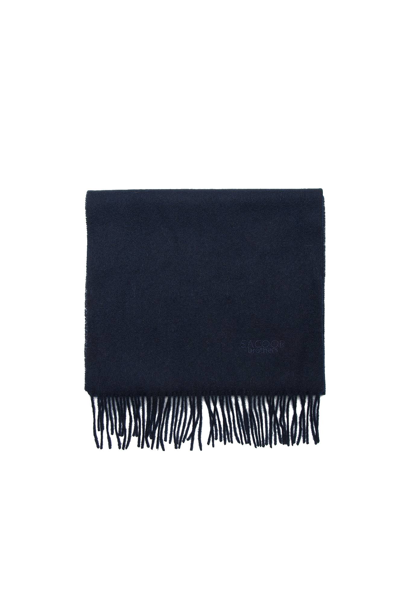 Scarf Dark Blue Casual Man