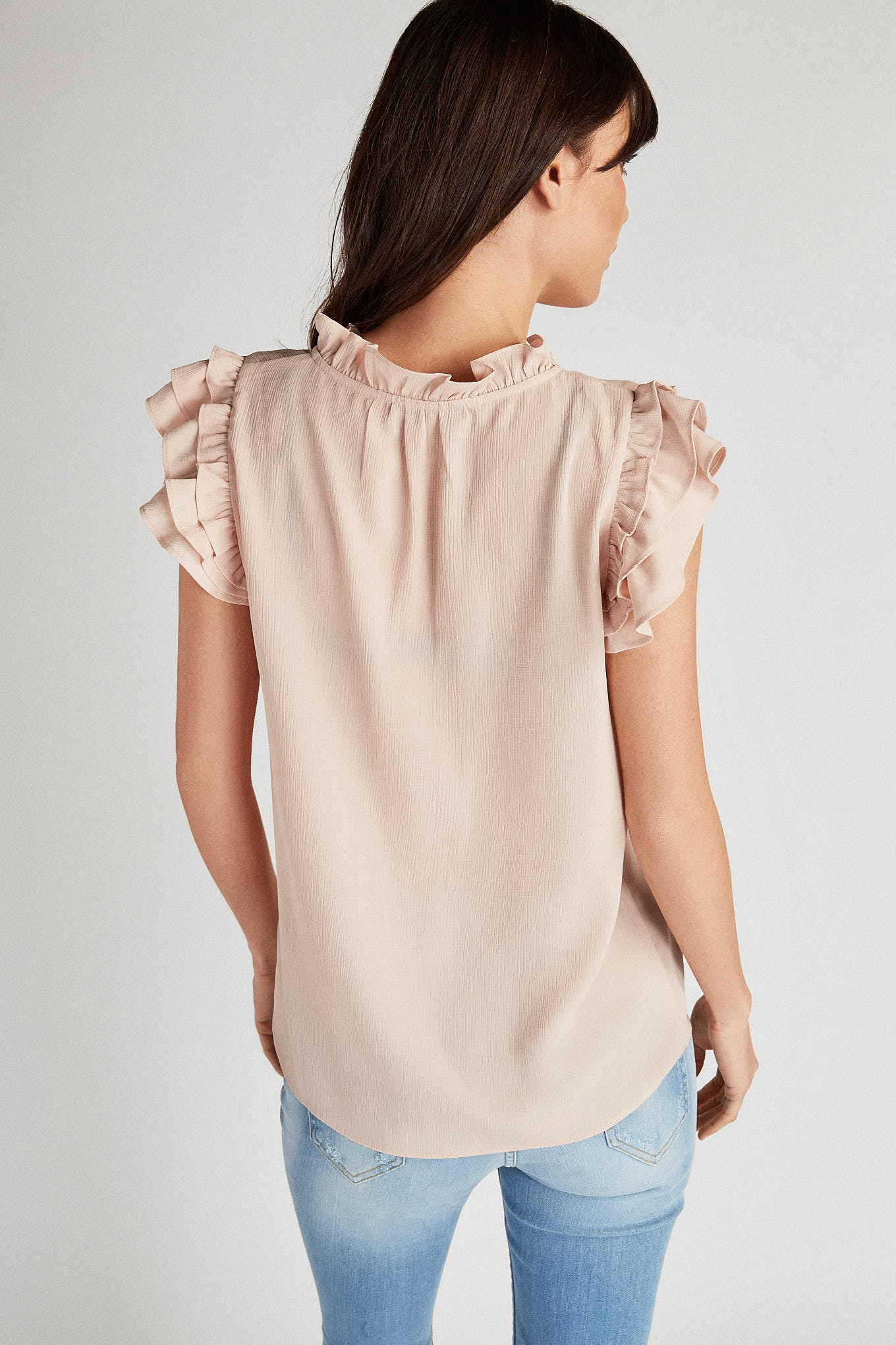 Blouse Pale Pink Fantasy Woman