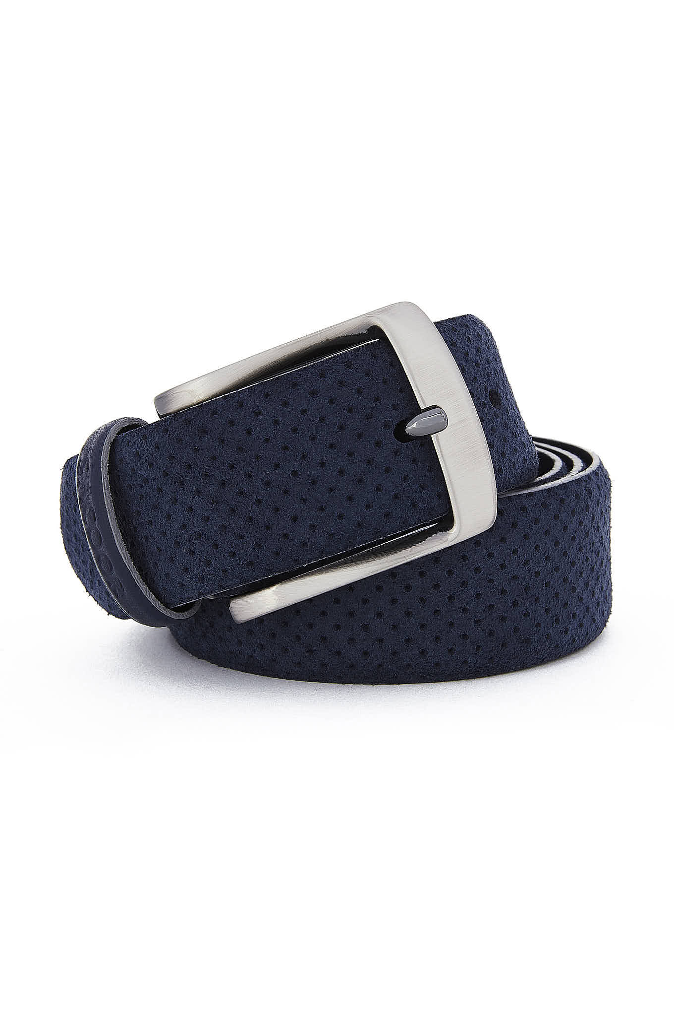 Belt Dark Blue Casual Man