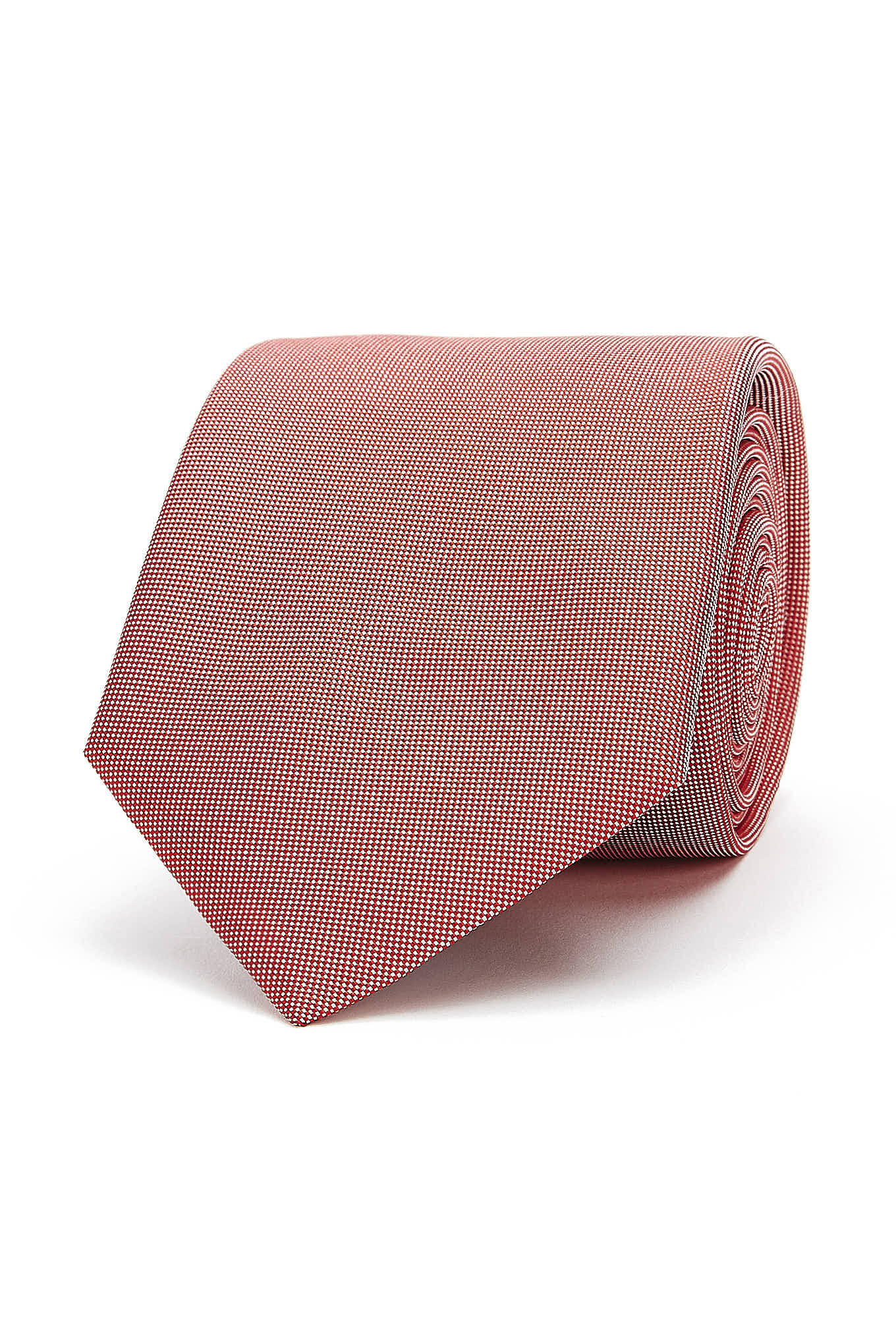 Tie Light Red Classic Man