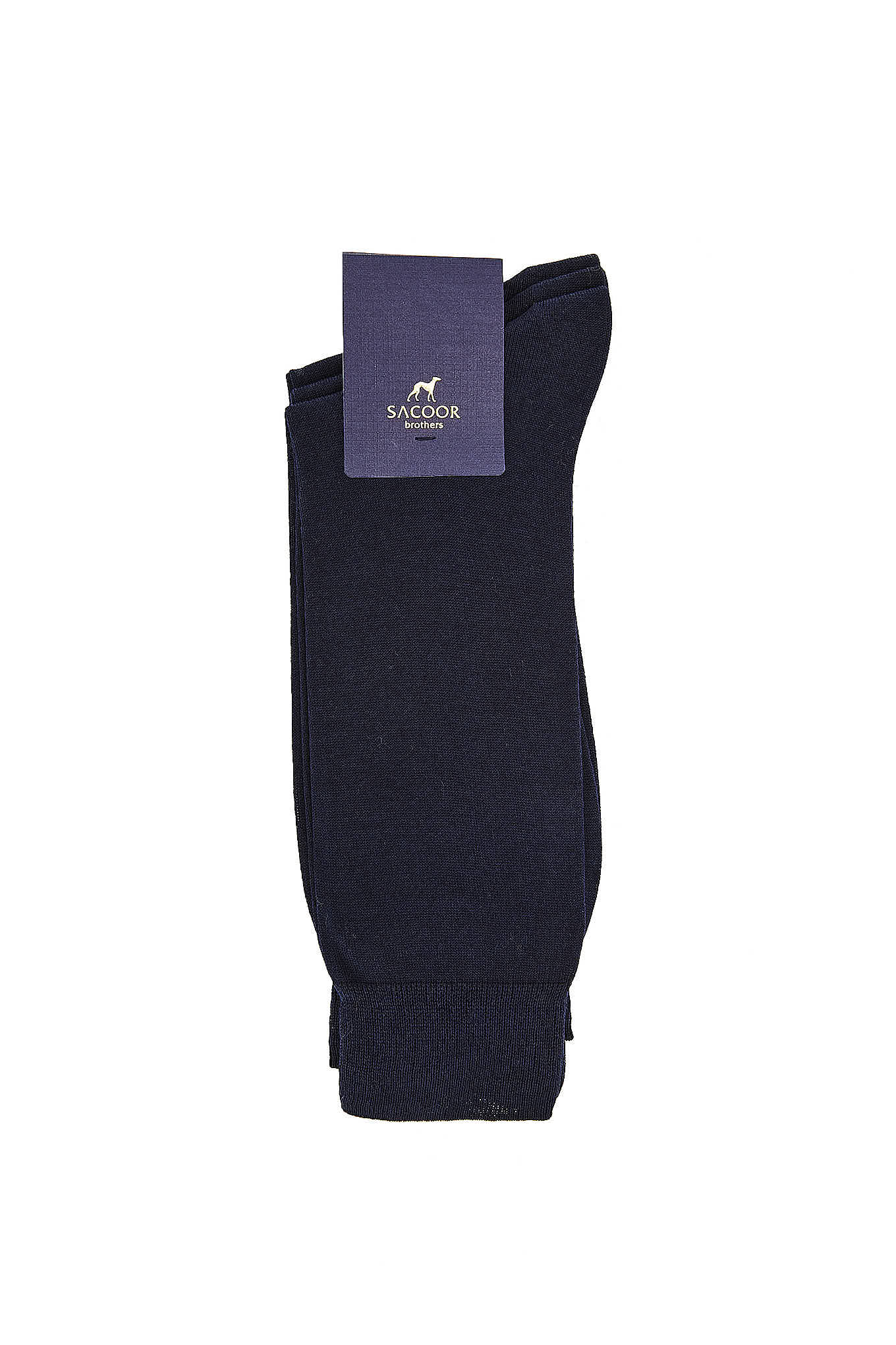 Socks Dark Blue Classic Man