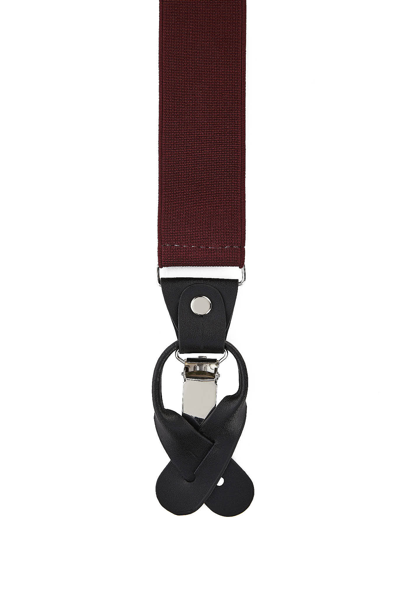 Suspenders Bordeaux Casual Man