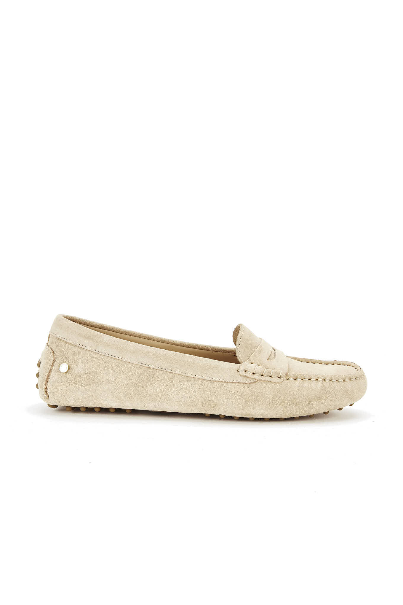 Drivers Light Beige Casual Woman