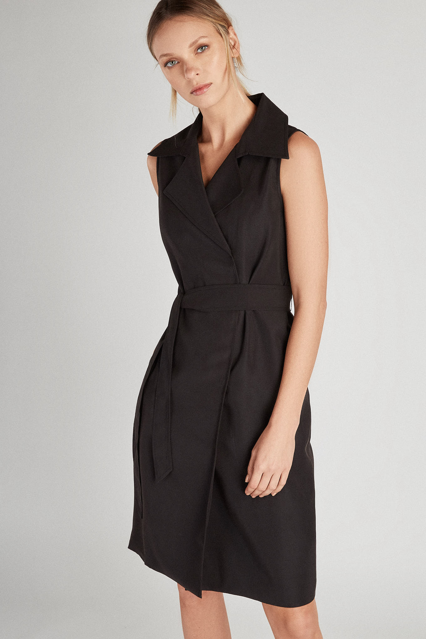 Dress Black Classic Woman