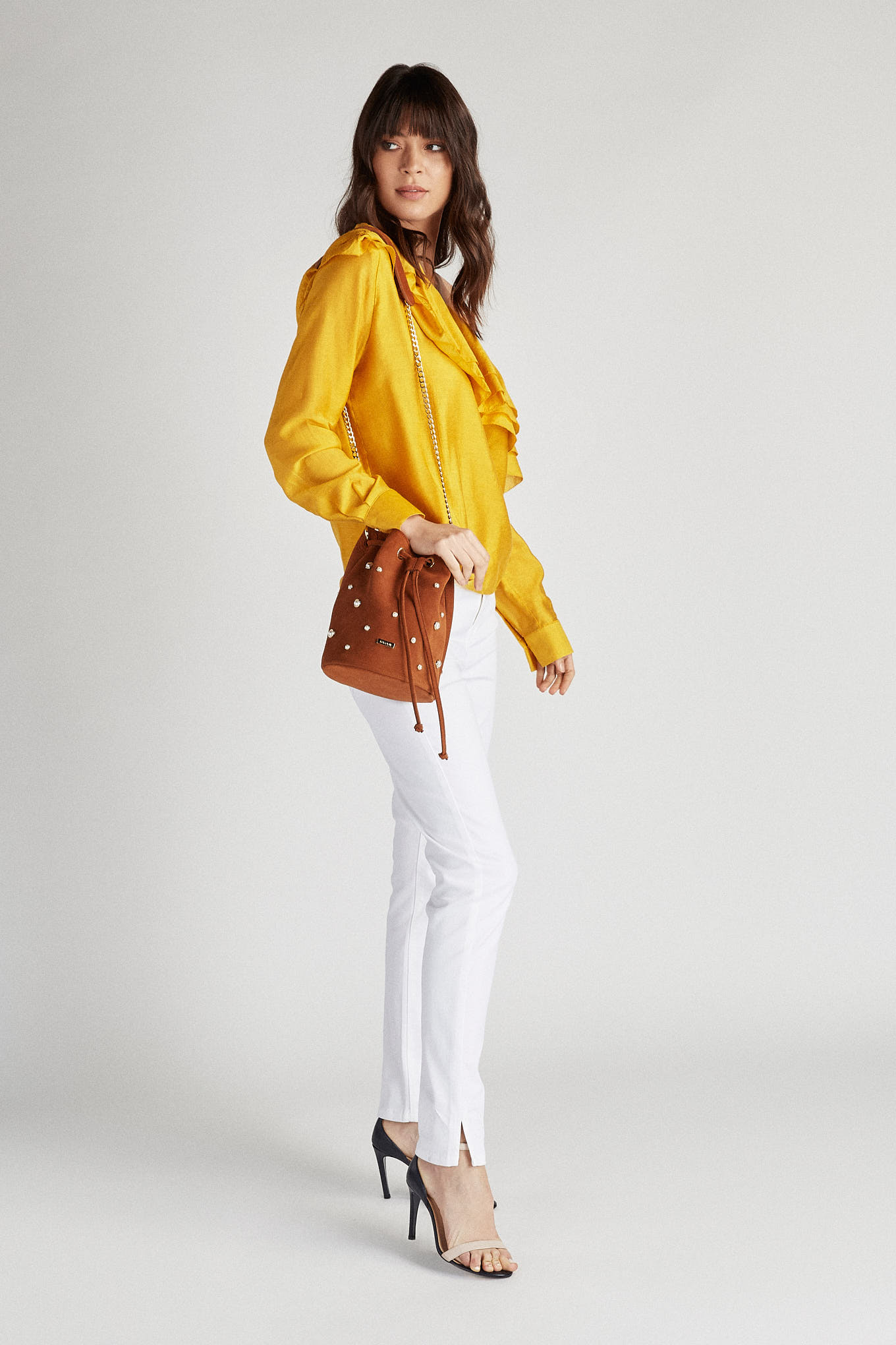 Blouse Yellow Fantasy Woman