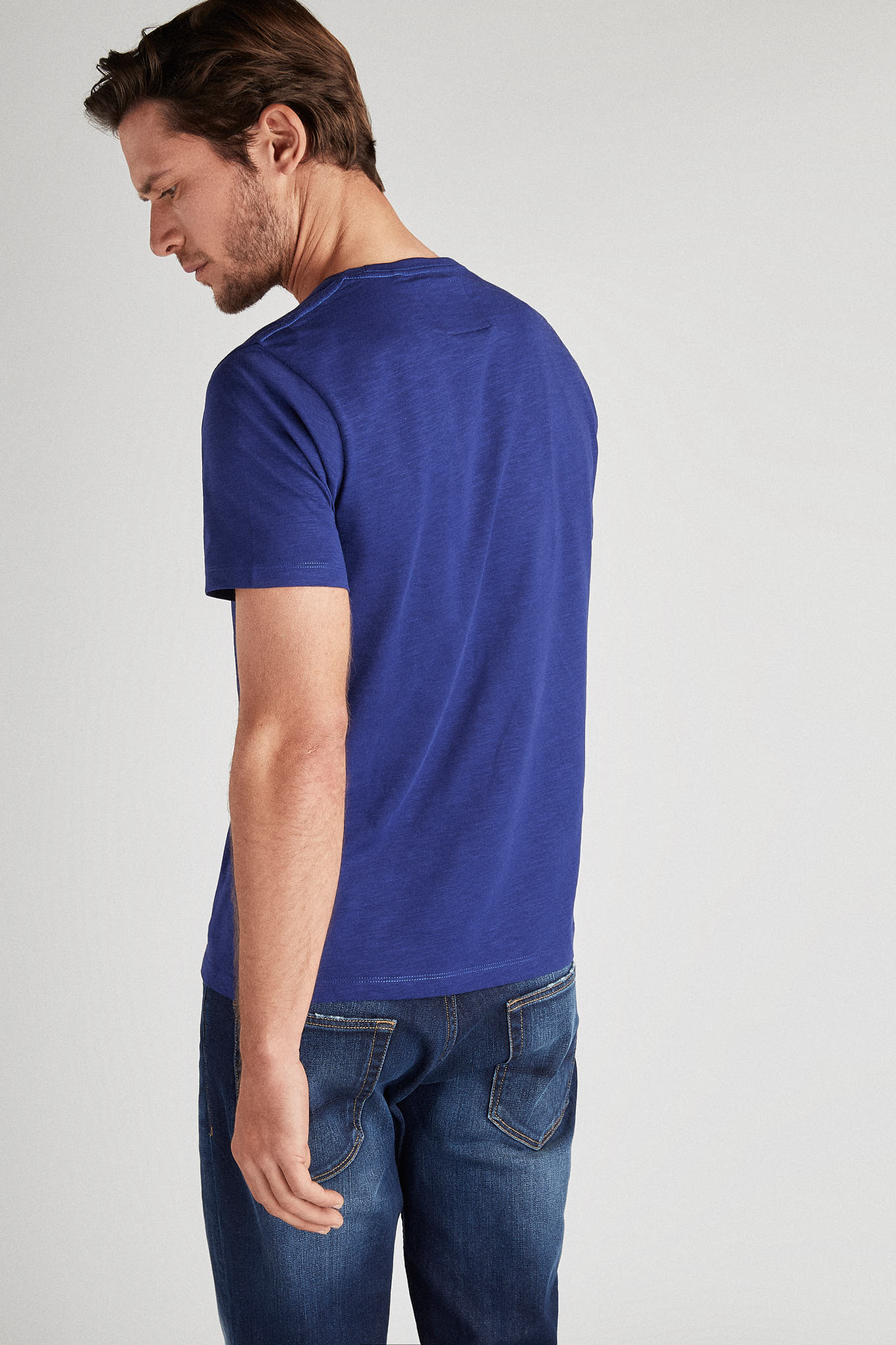 T-Shirt Royal Blue Sport Man