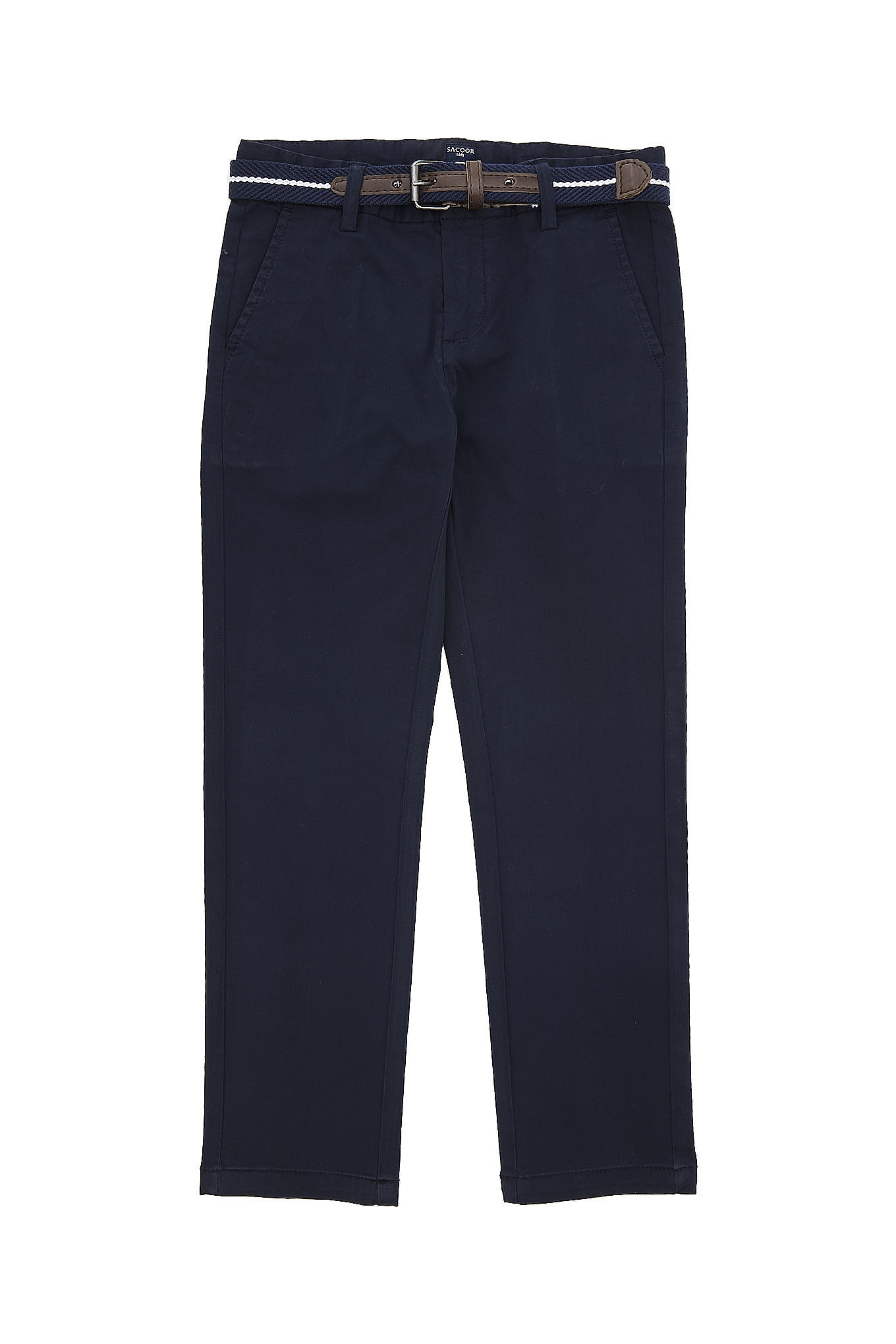 Chino Trousers Dark Blue Casual Boy