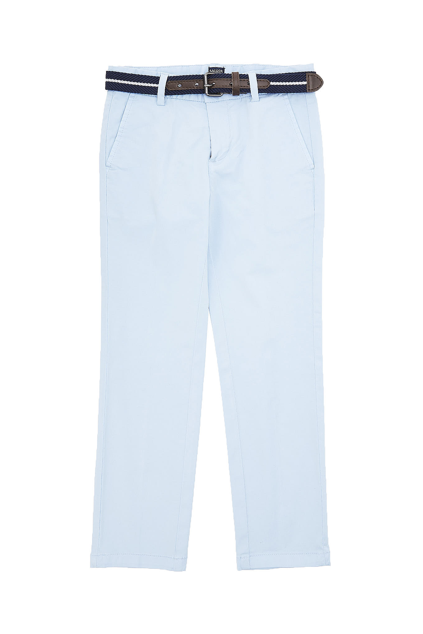 Chino Trousers Light Blue Casual Boy
