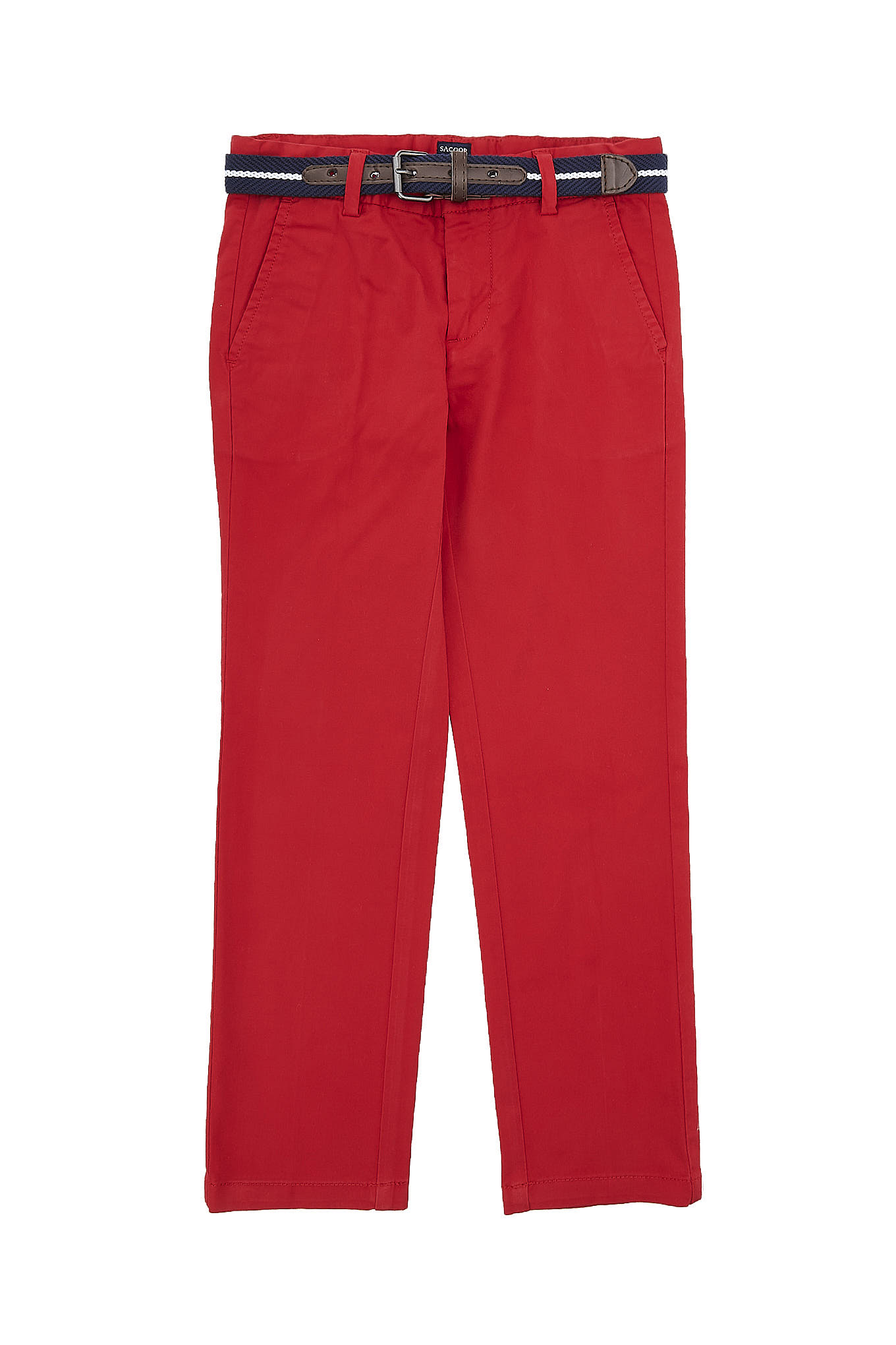 Chino Trousers Red Casual Boy