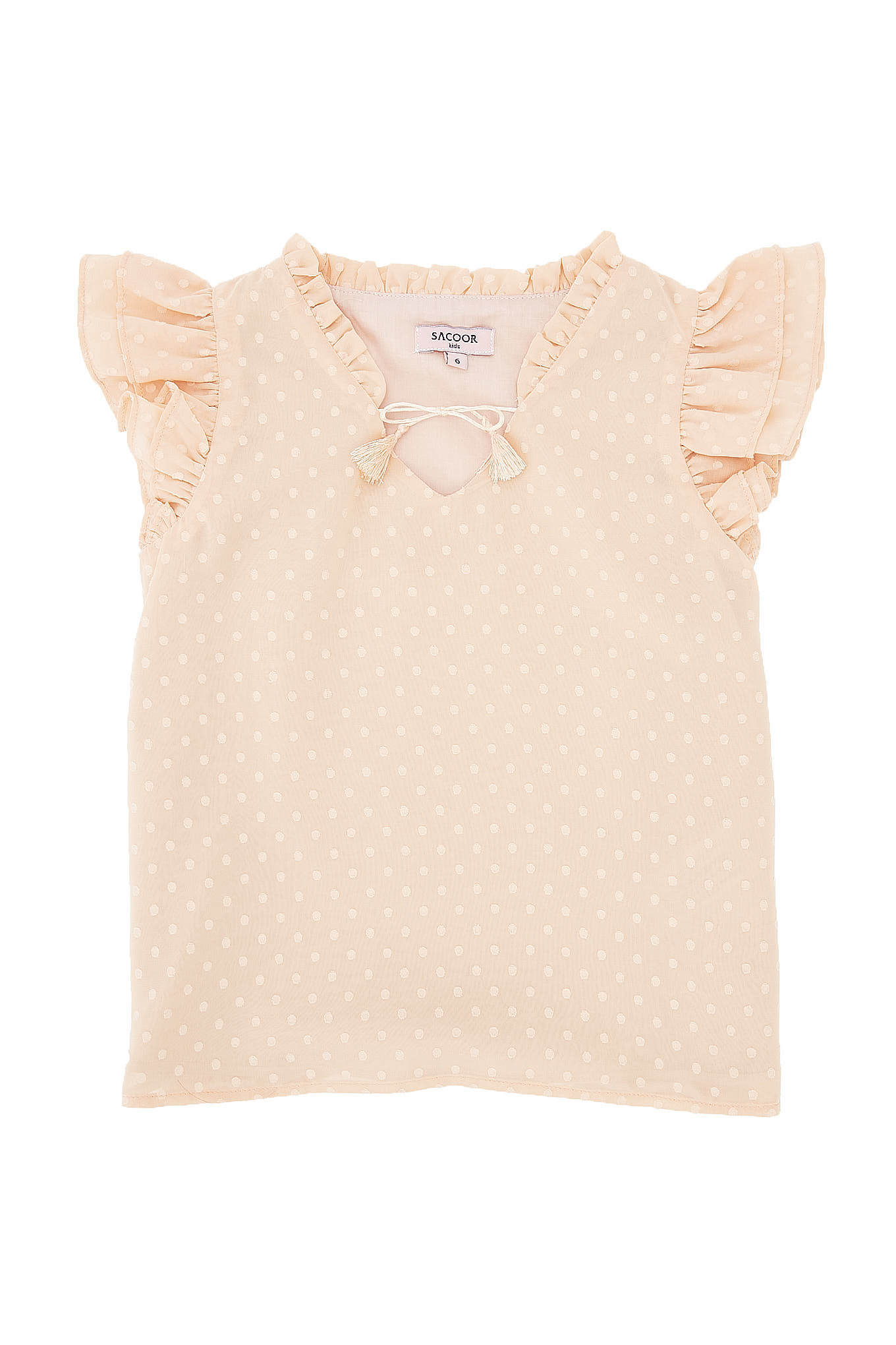 Blouse Light Orange Fantasy Girl