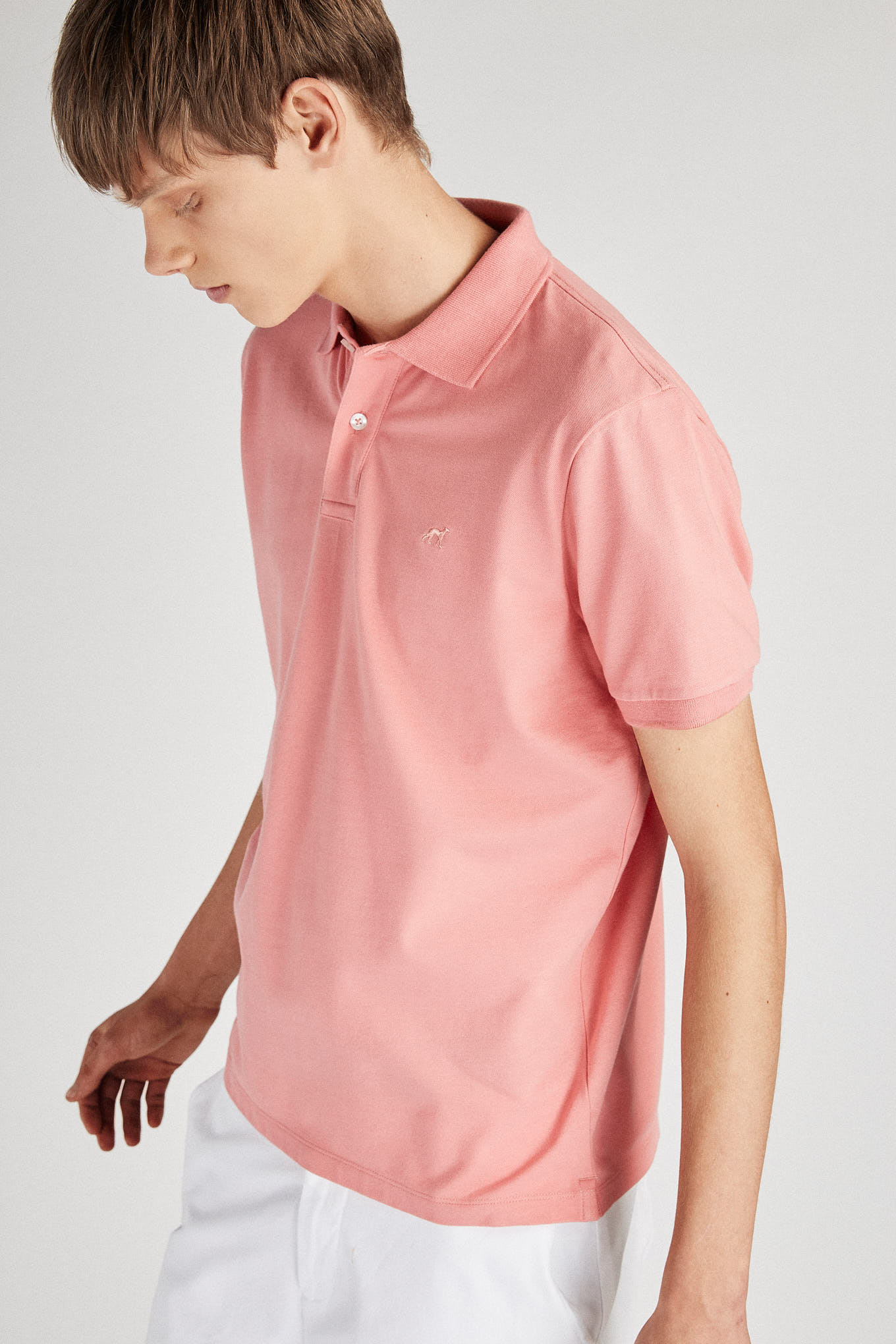 Polo Piquet Dark Pink Sport Man