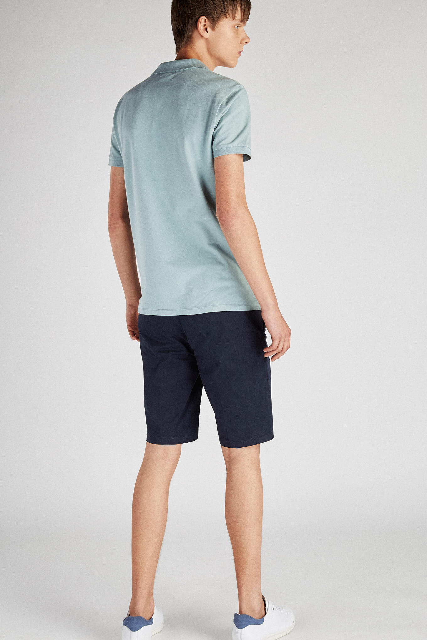 Bermuda Dark Blue Casual Man