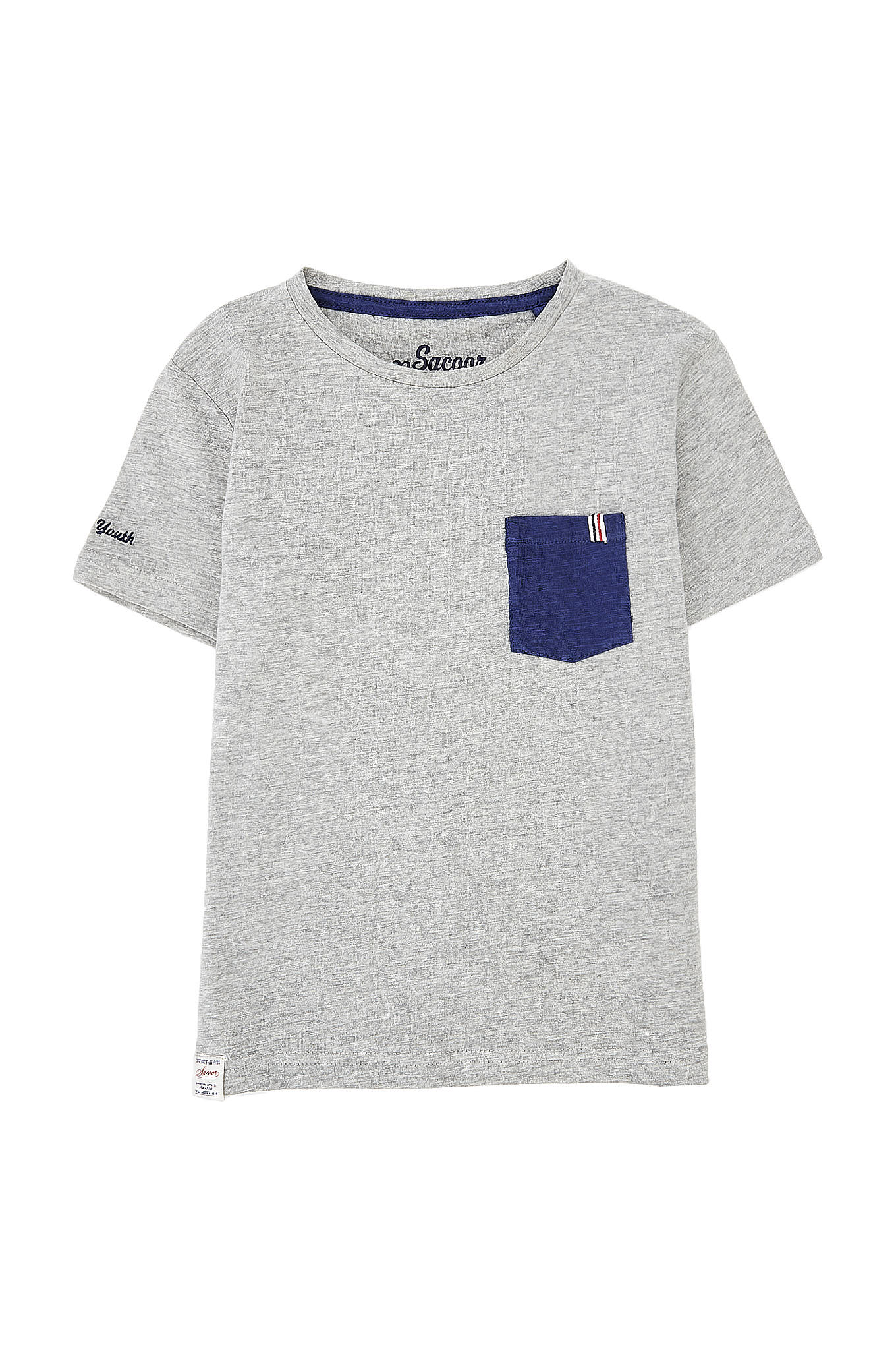 T-Shirt Mix Grey Sport Boy