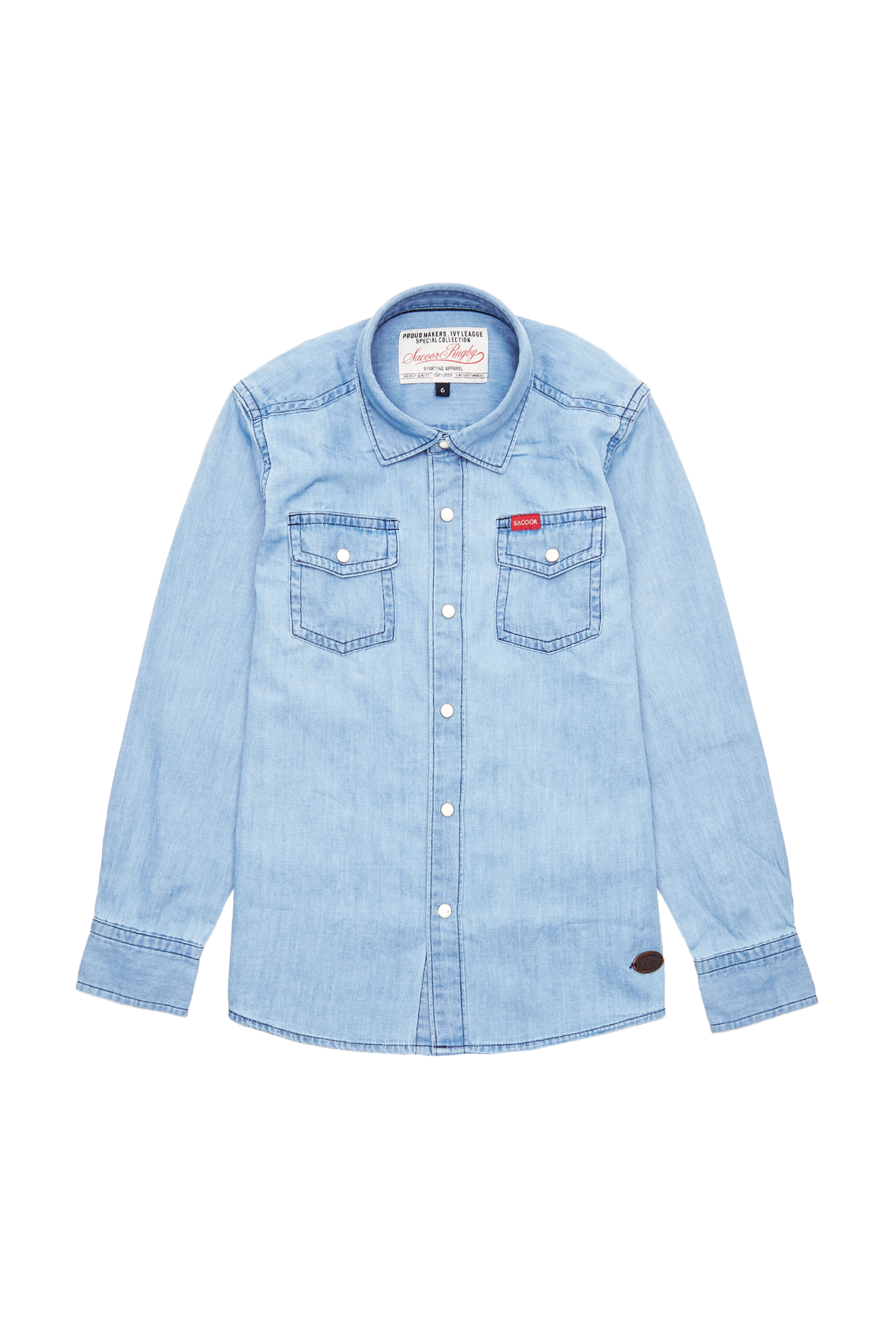 Shirt Light Blue Sport Boy