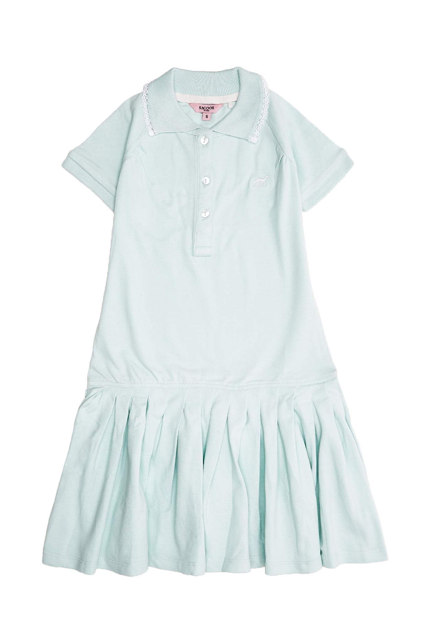 Dress Piquet Aqua Sport Girl