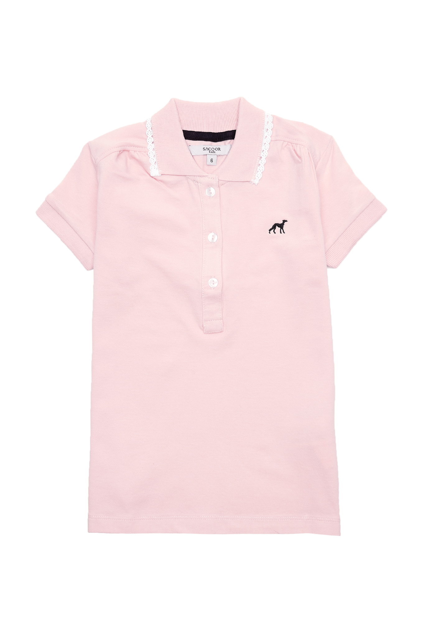 Polo Piquet Pink Sport Girl