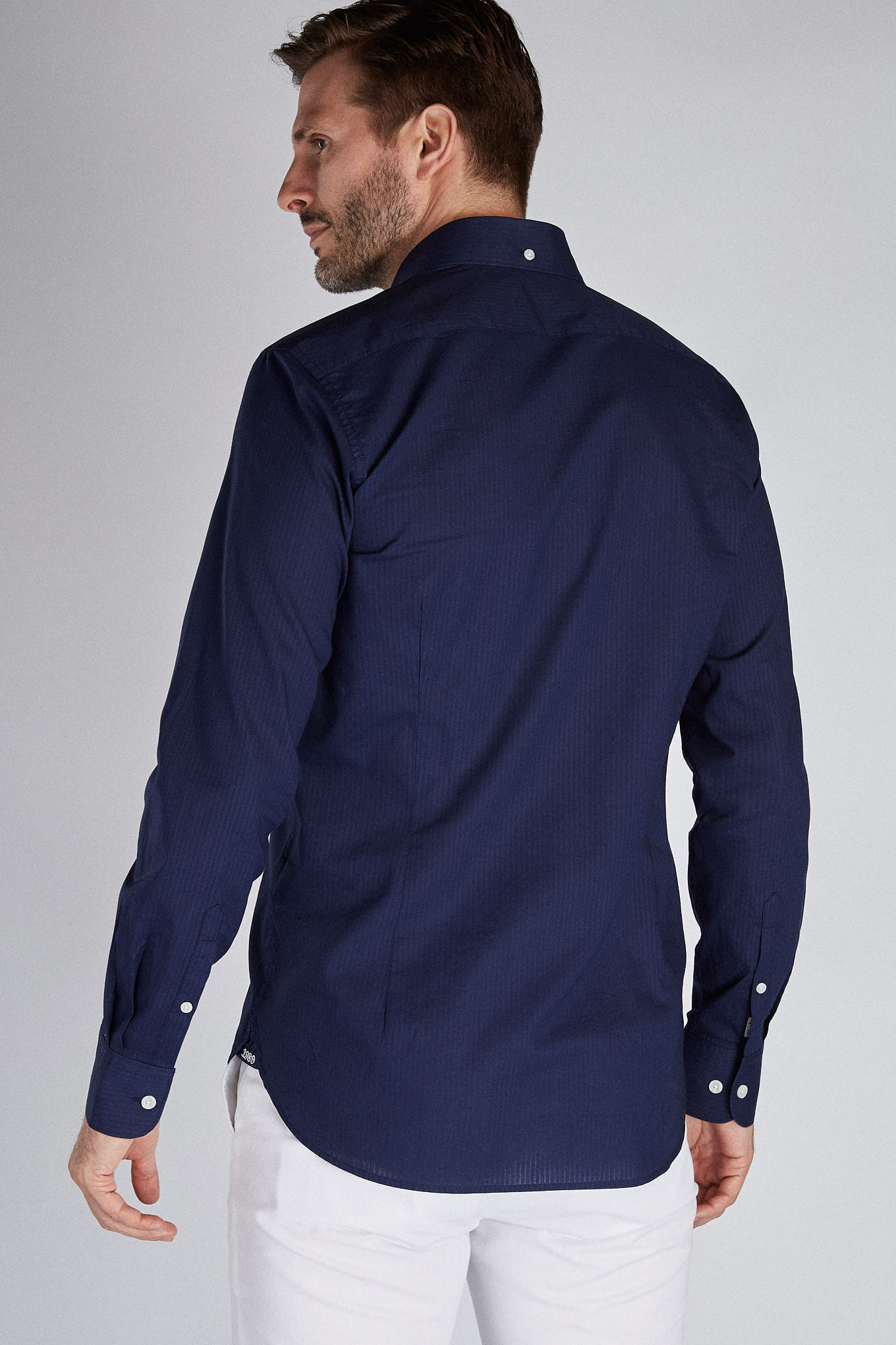 Shirt Dark Blue Sport Man