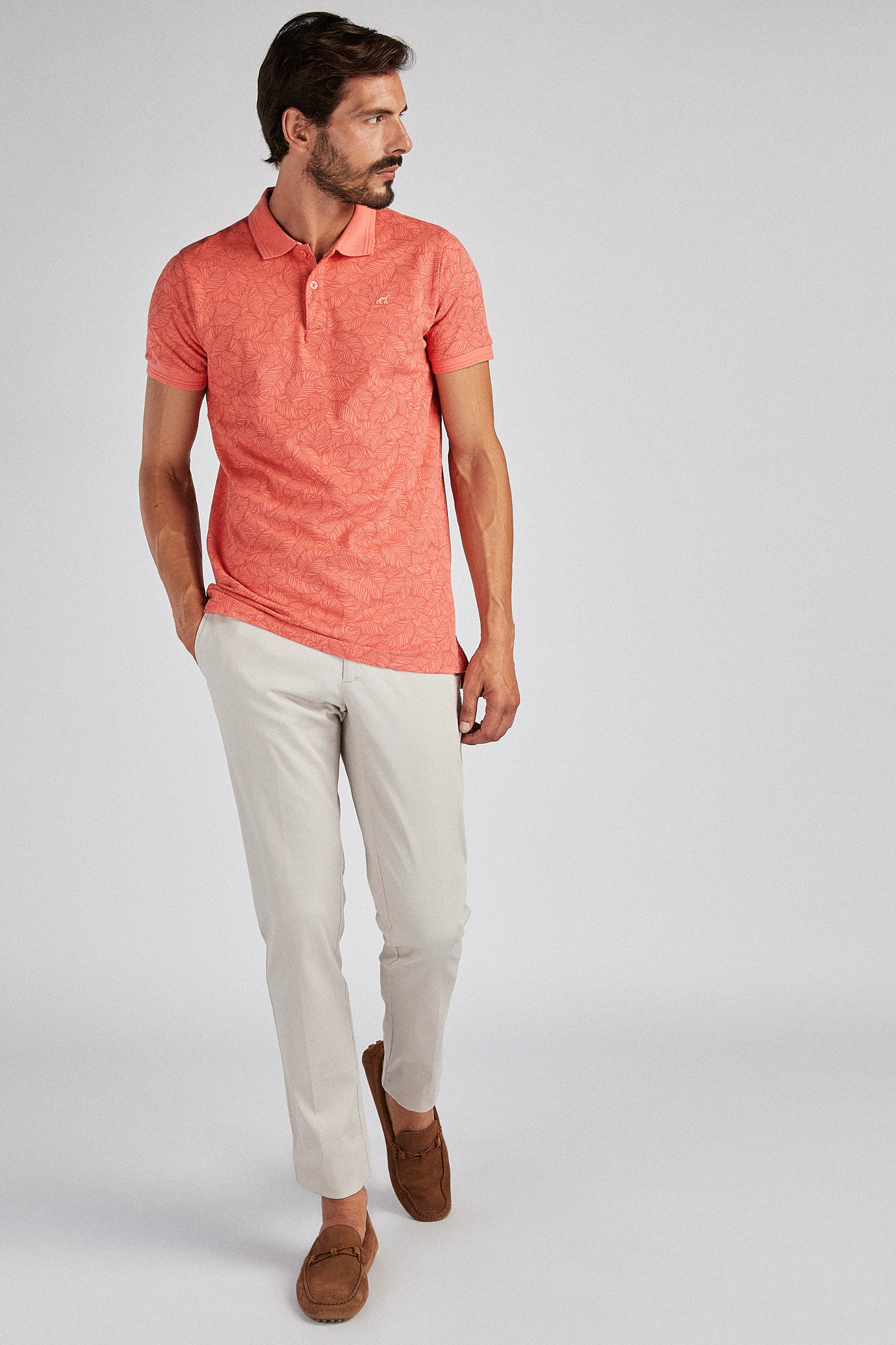 Chino Trousers Sand Casual Man