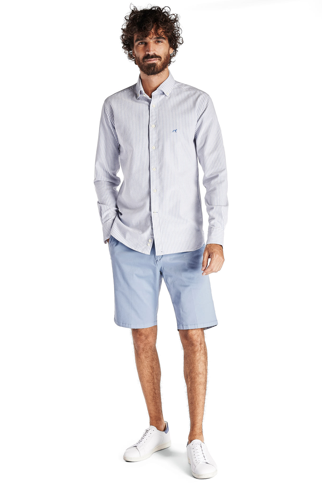 Bermuda Light Blue Sport Man