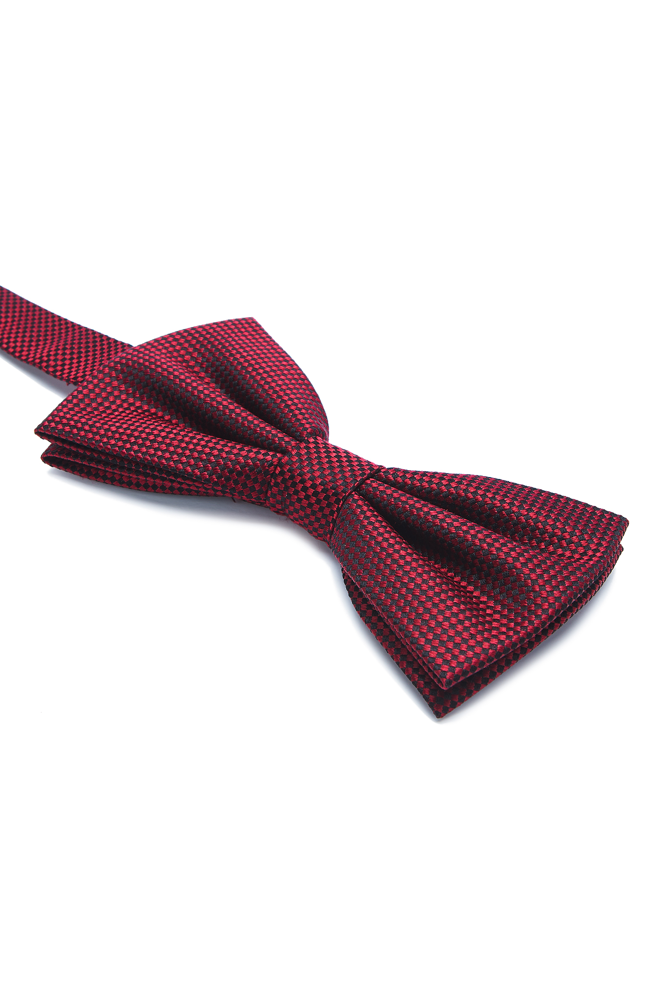 Bow Tie Red Casual Man