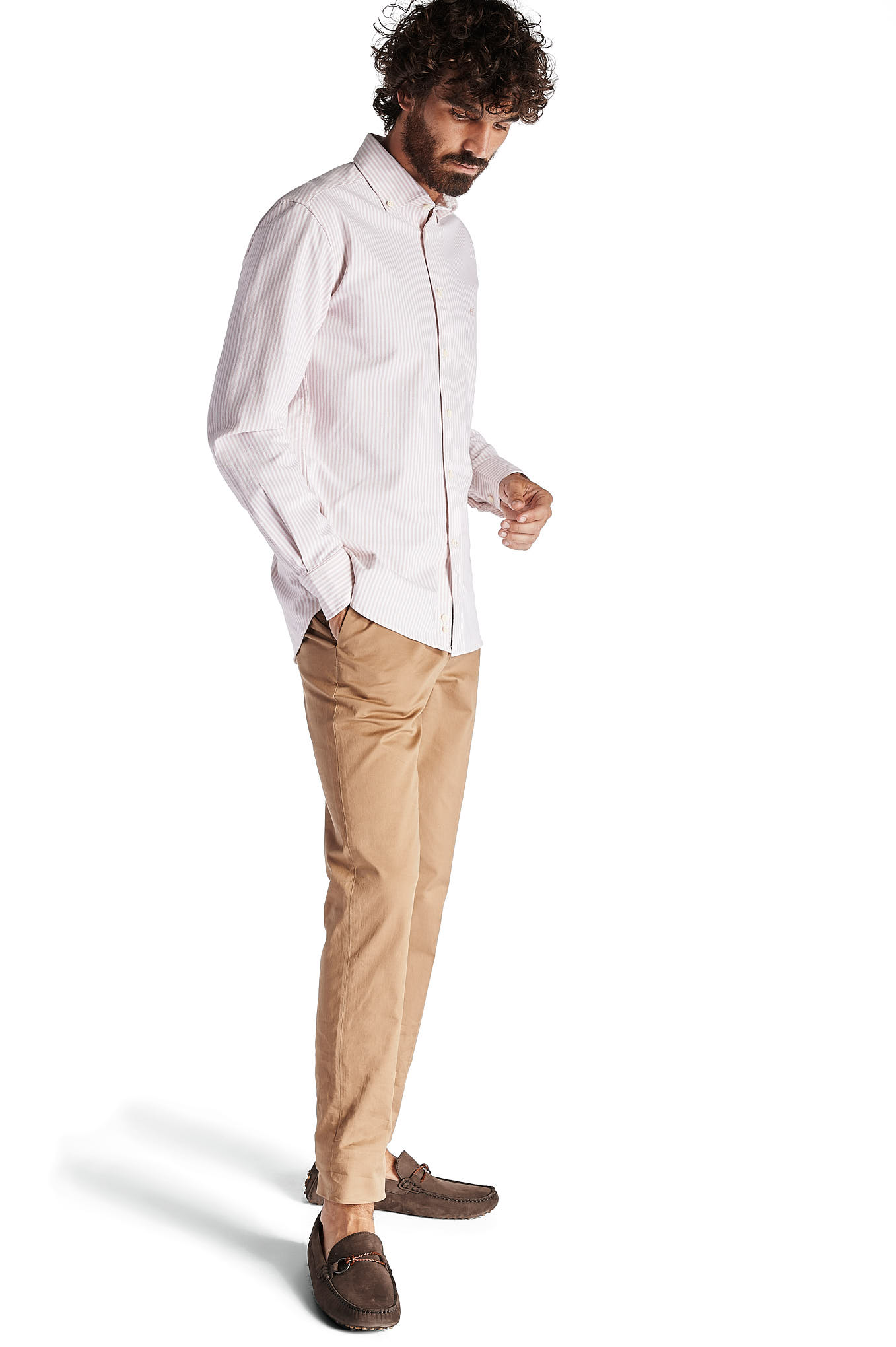 Chino Trousers Camel Sport Man
