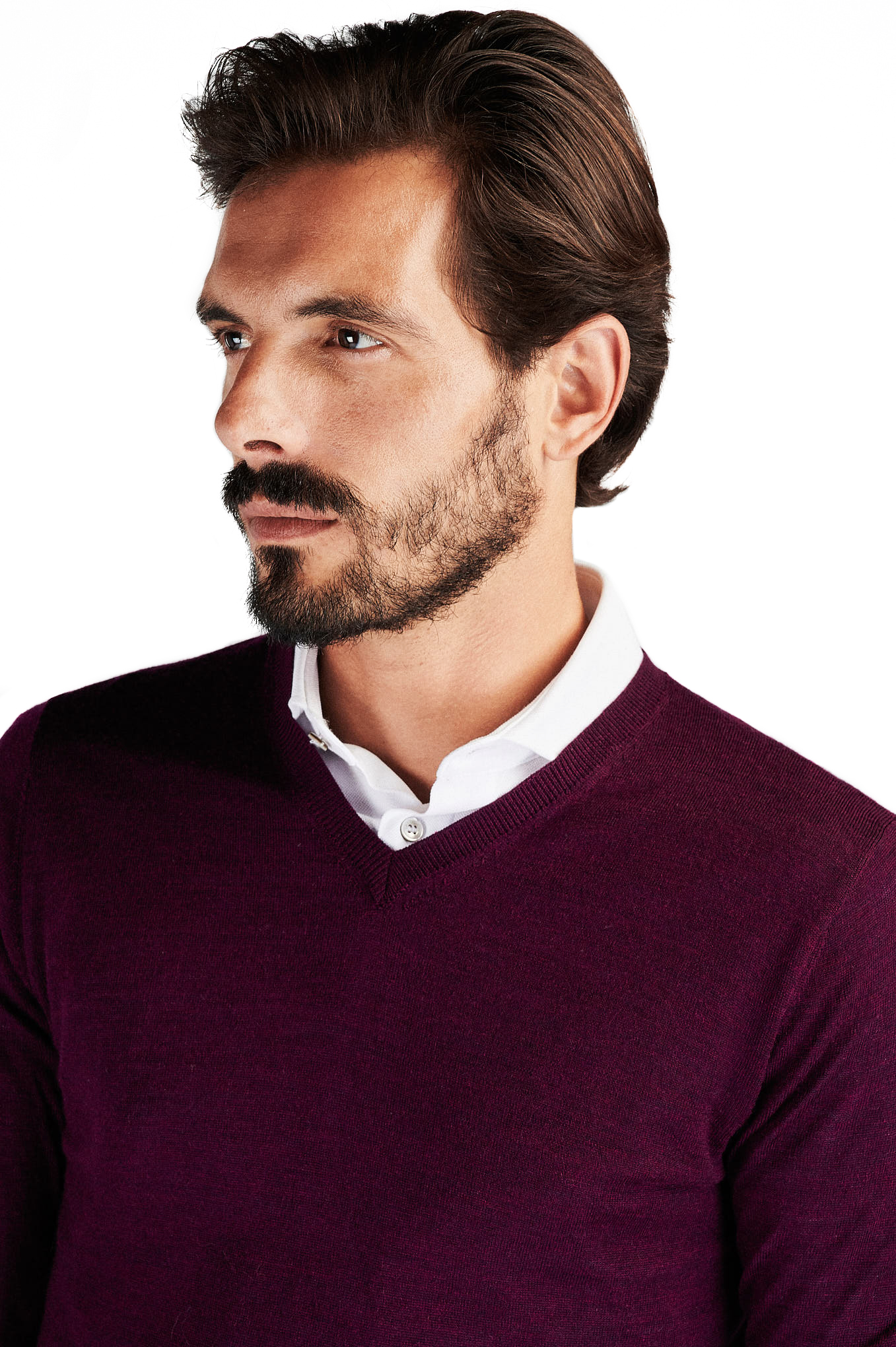 Sweater Plum Casual Man