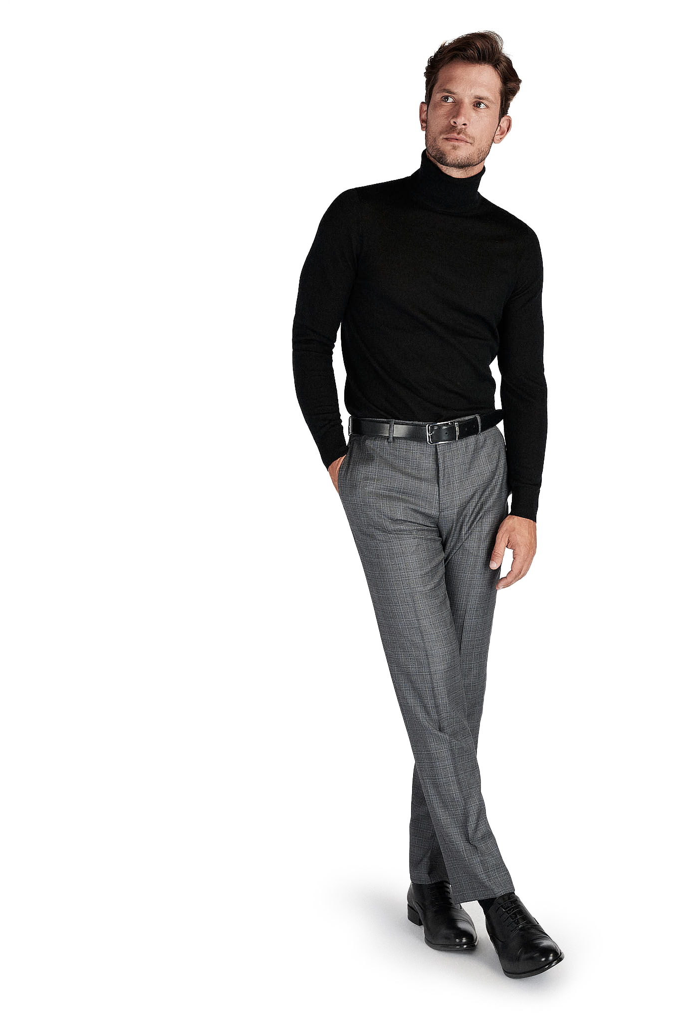 Sweater Black Casual Man