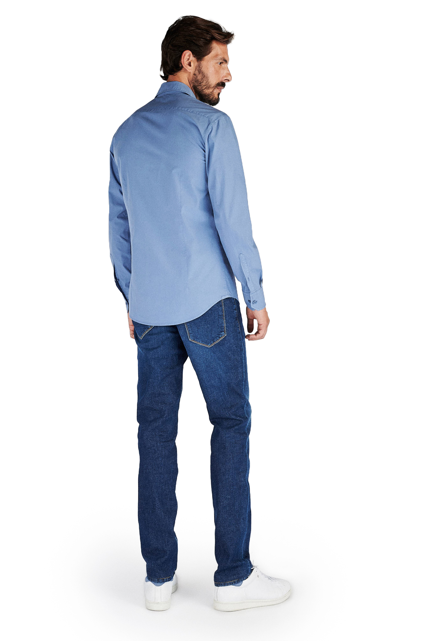Shirt Blue Sport Man