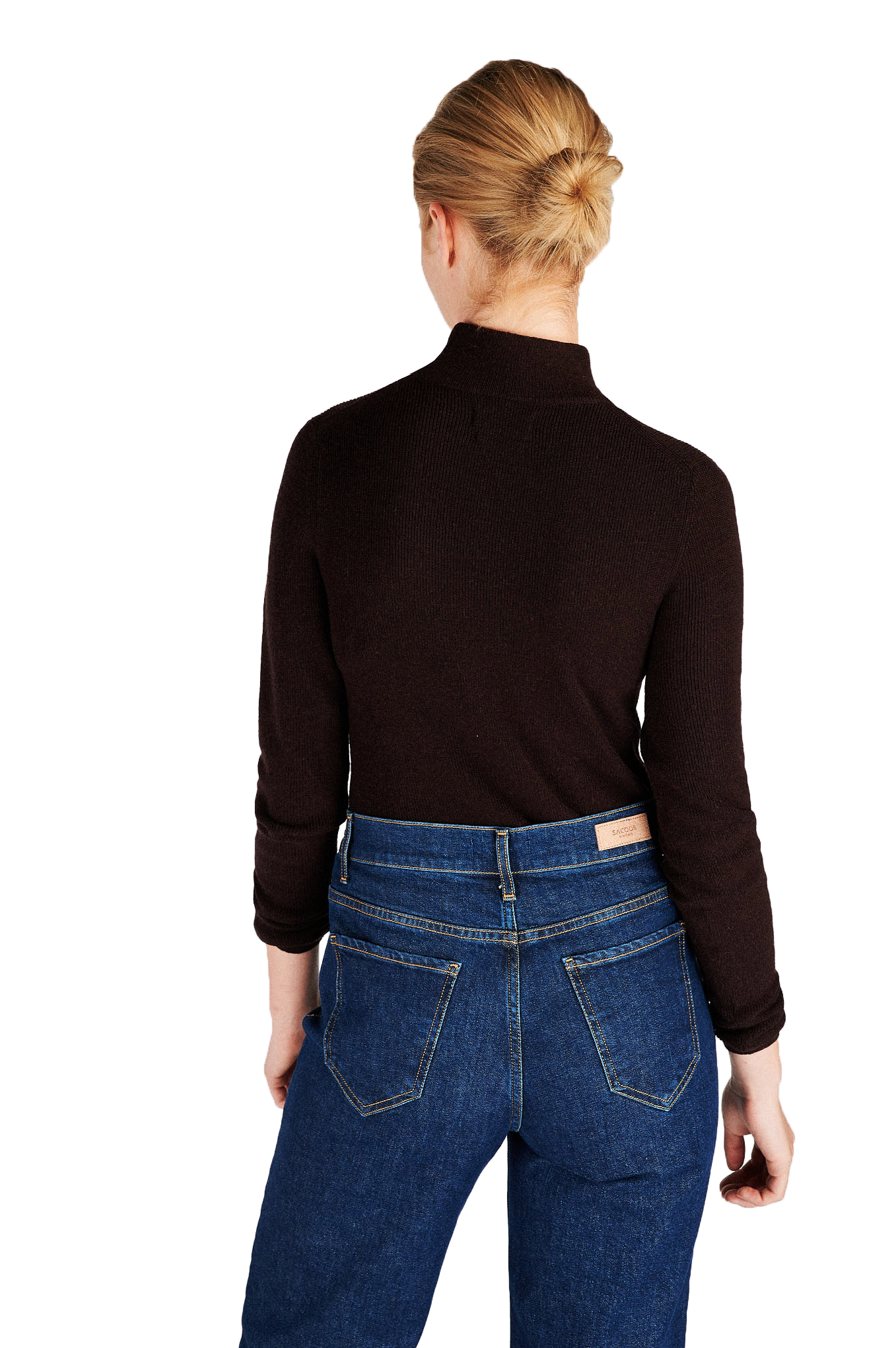 Sweater Chocolate Casual Woman