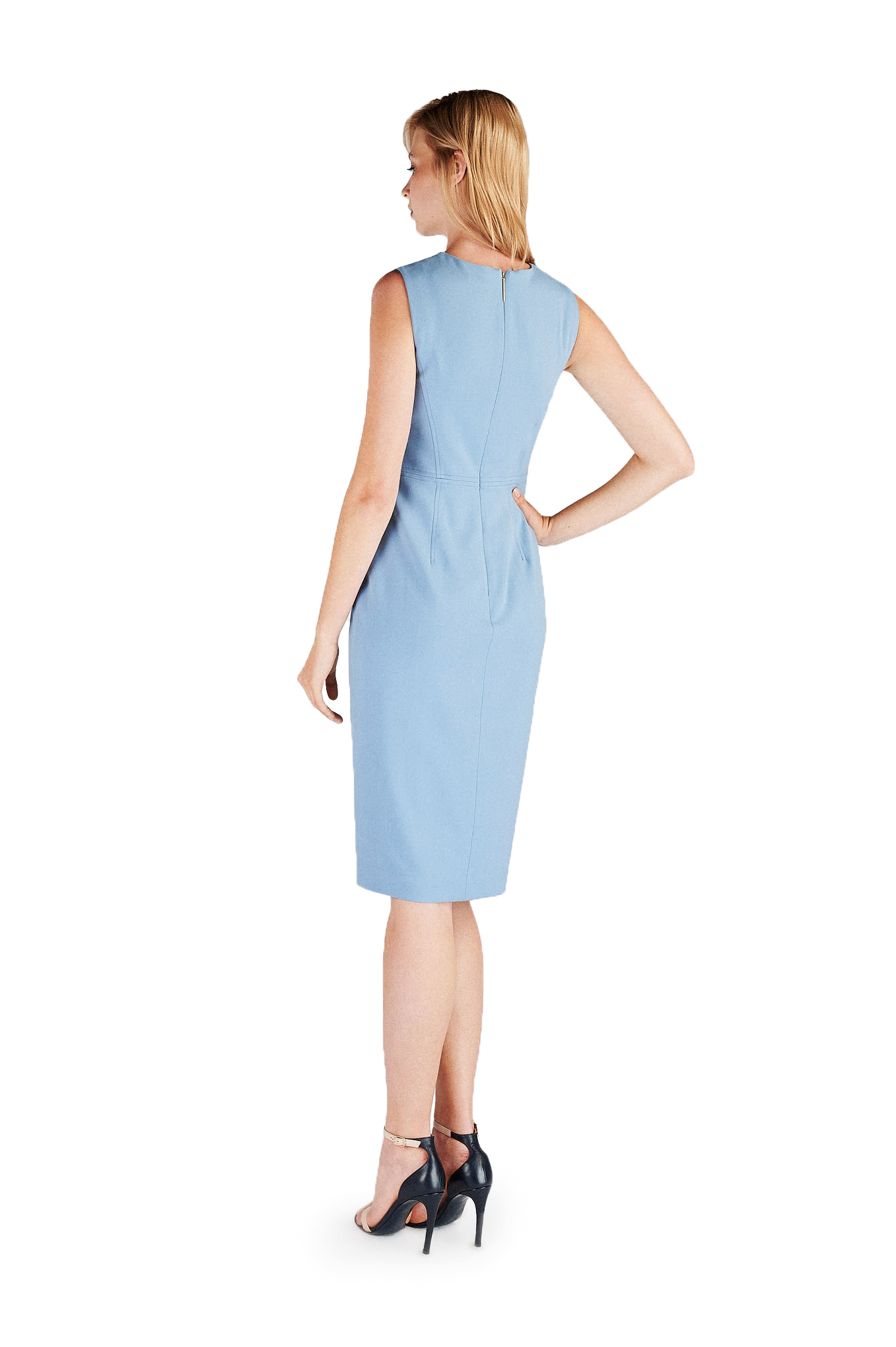 Dress Blue Classic Woman
