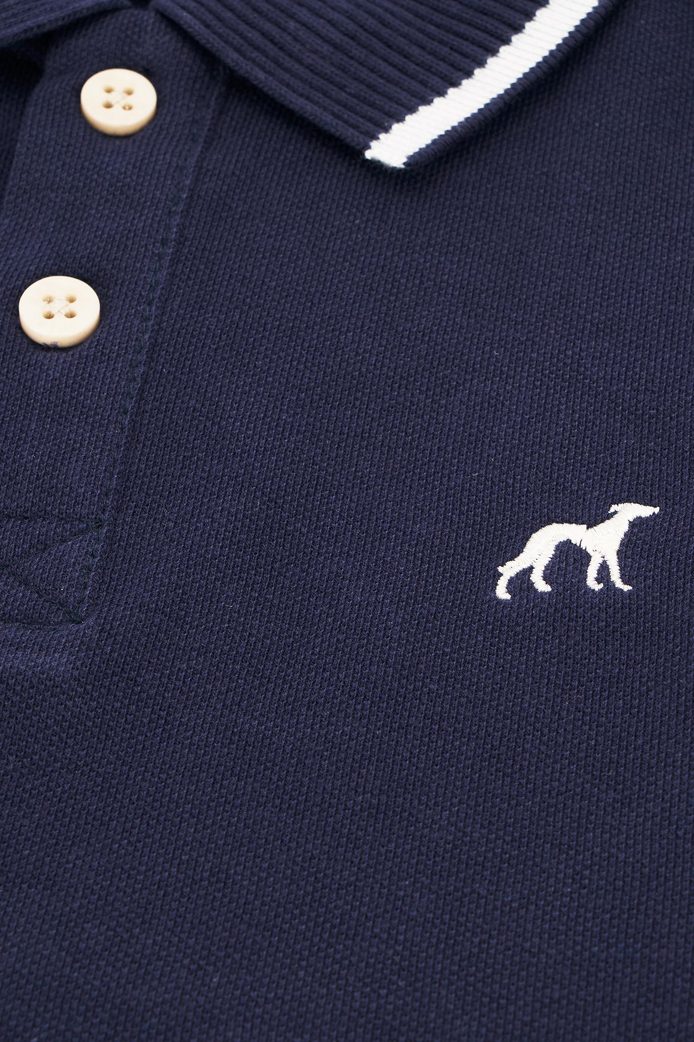 Polo Piquet Dark Blue Sport Boy