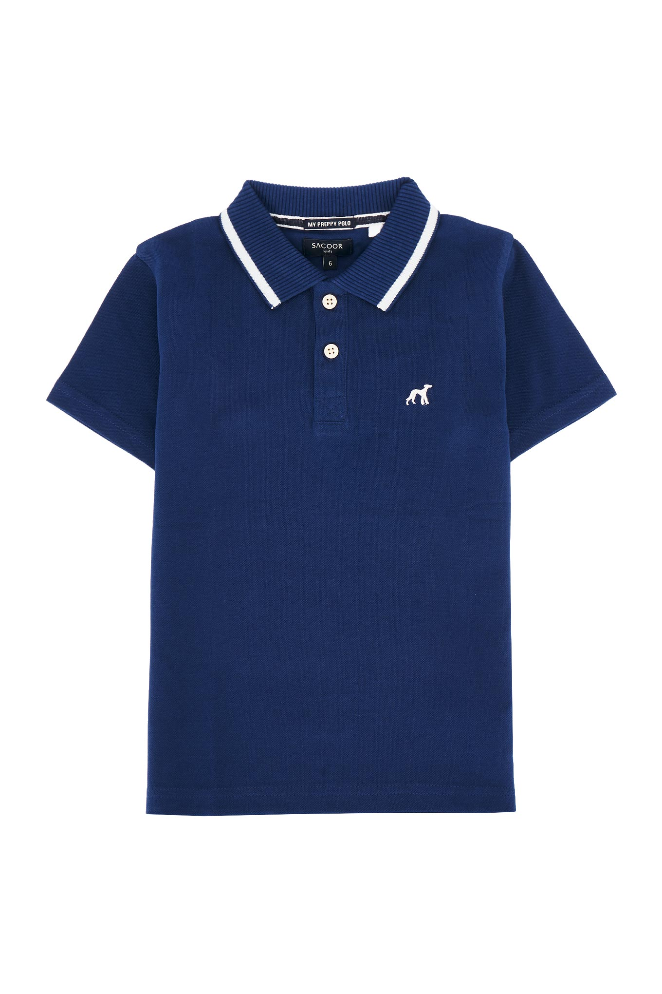 Polo Piquet Royal Blue Sport Boy