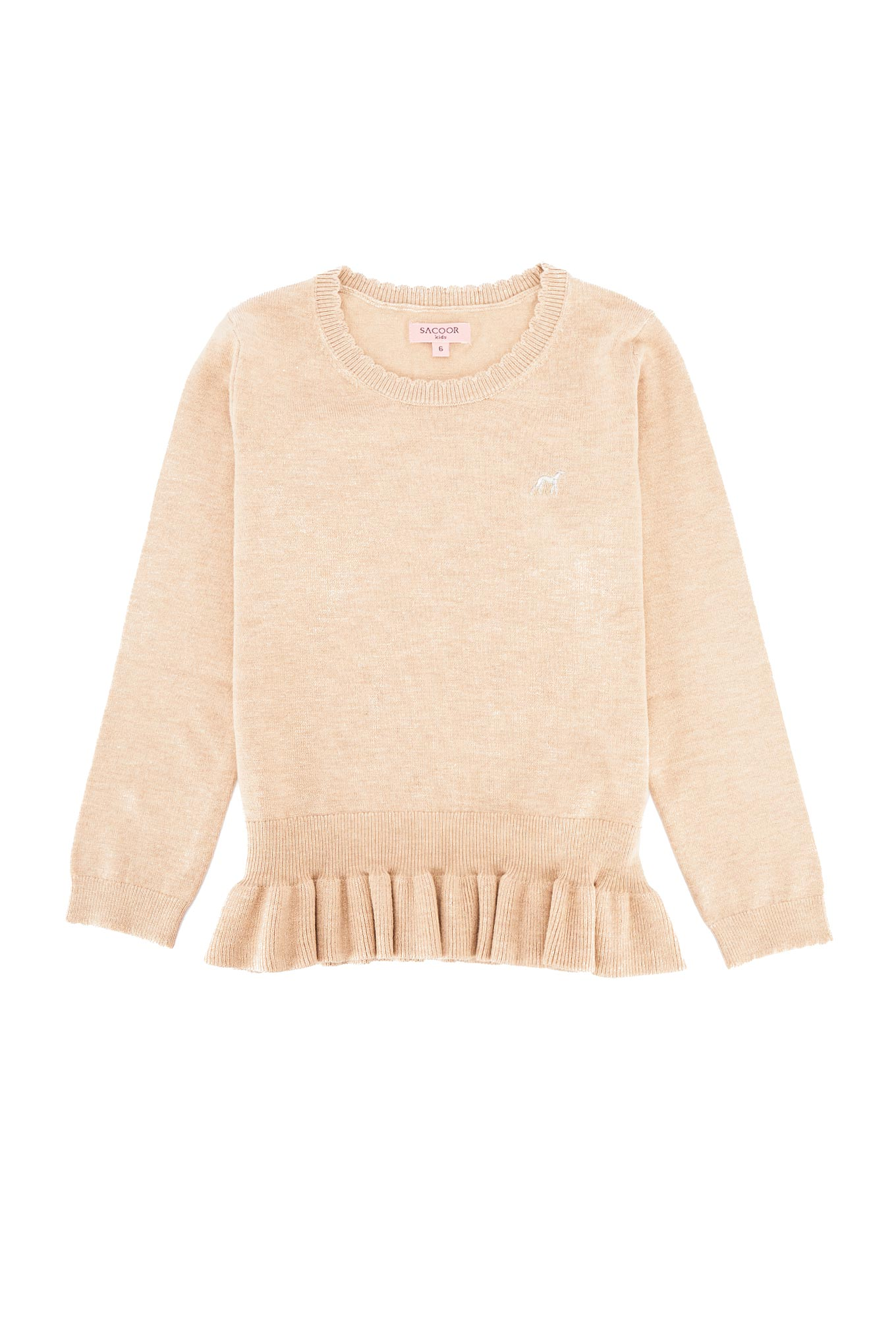 Sweater Ecru Casual Girl