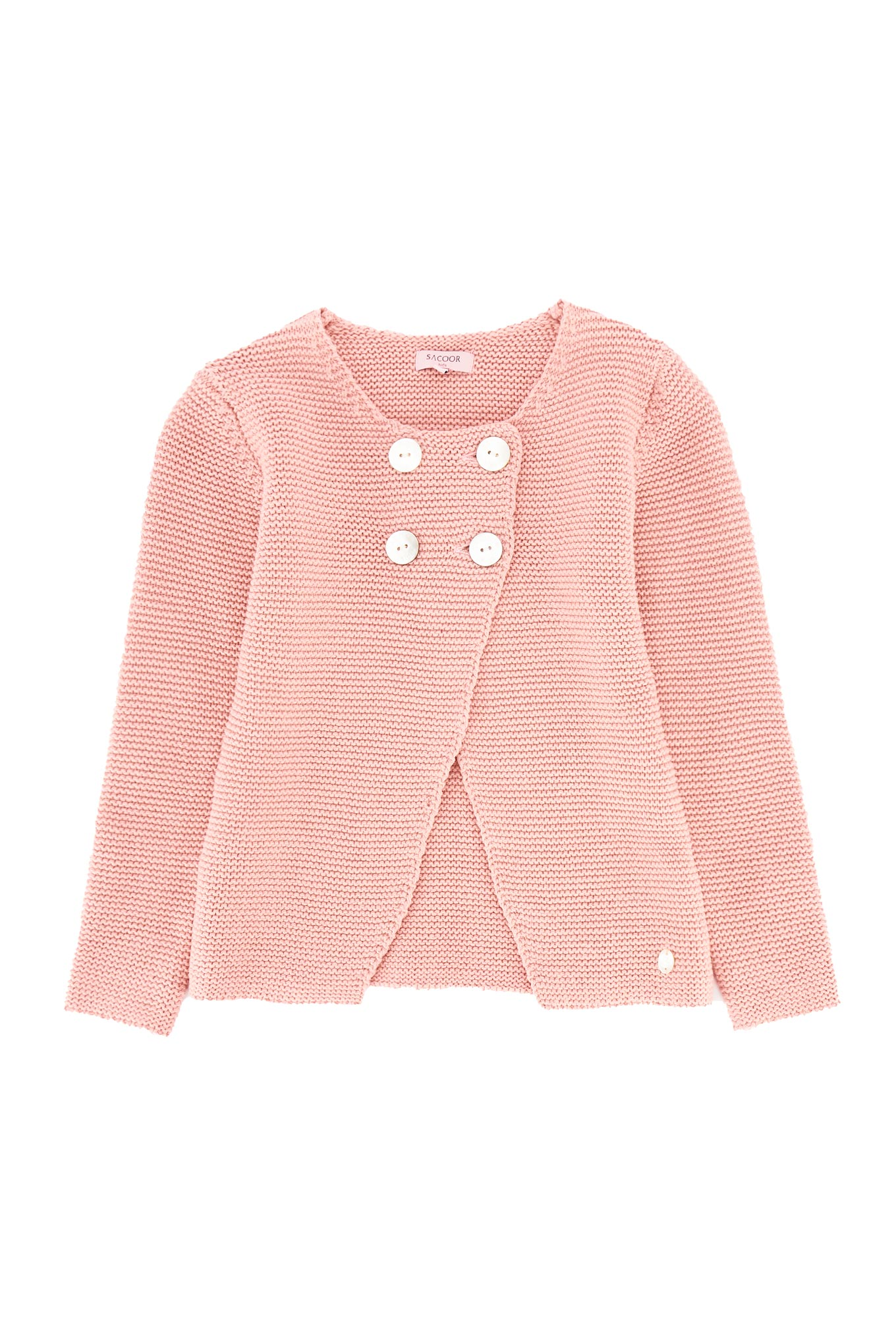 Cardigan Pink Casual Girl