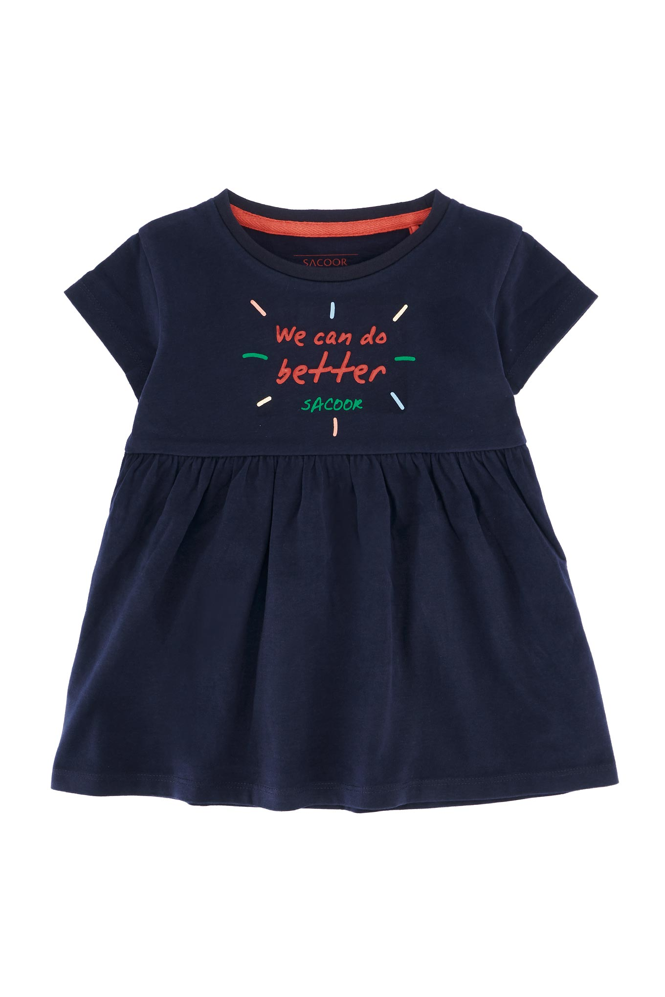 T-Shirt Dark Blue Sport Girl