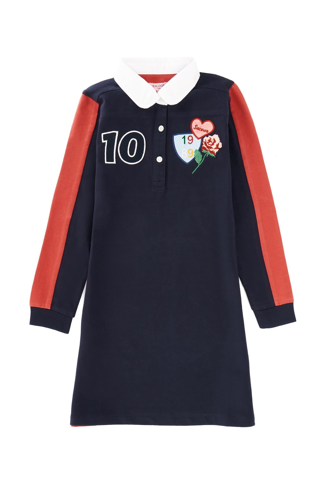 Rugby Dress Beige Sport Girl