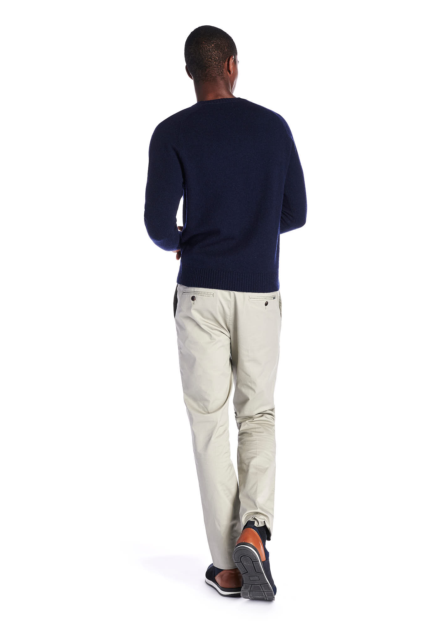 Chino Trousers Light Green Sport Man