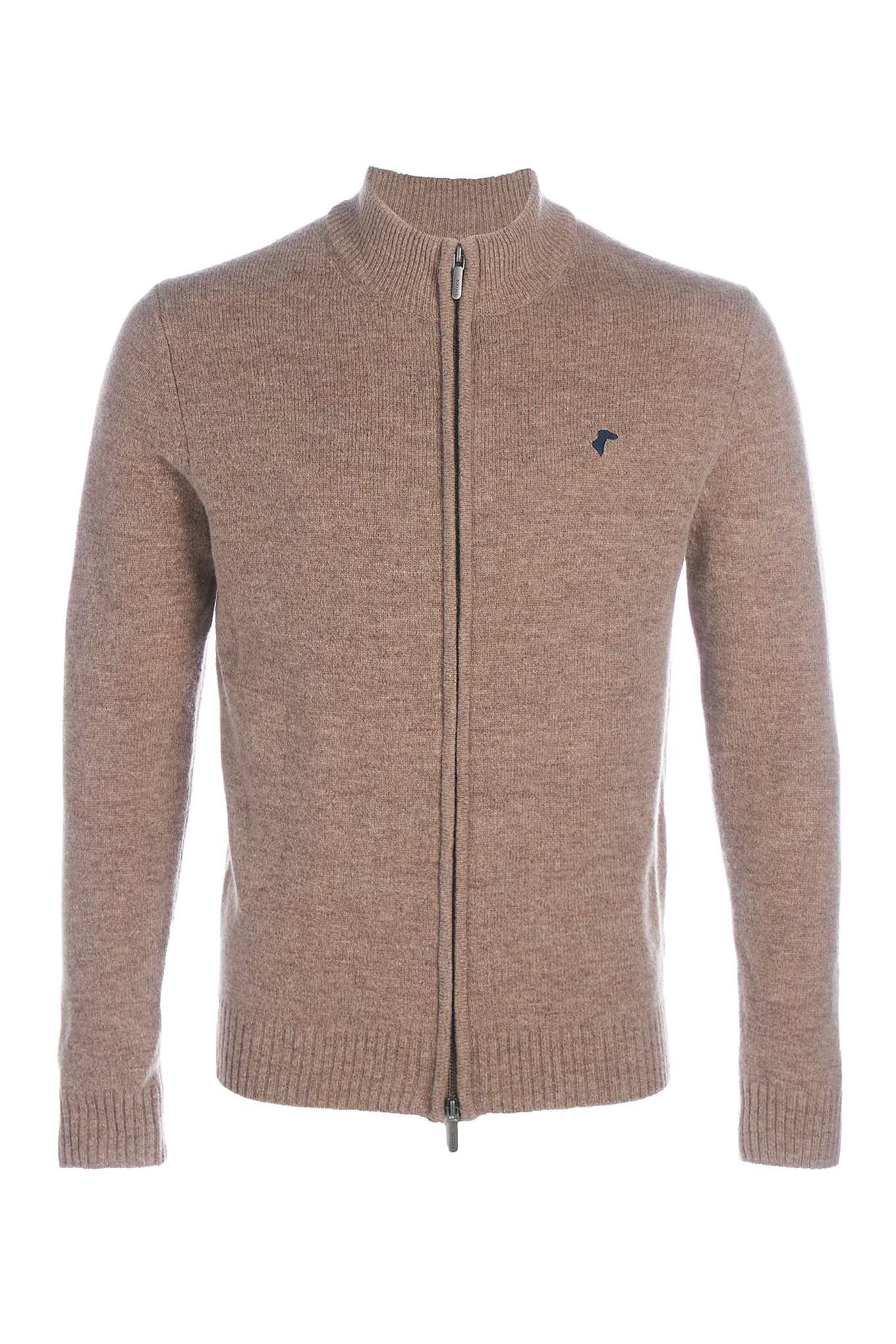 Cardigan Beige Casual Man