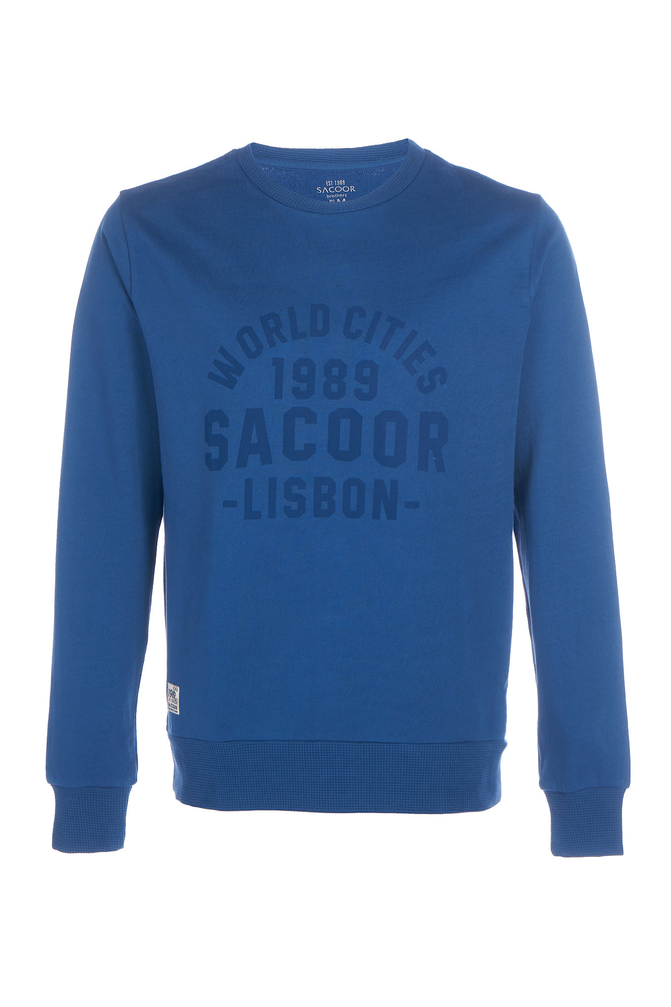 Sweatshirt Royal Blue Sport Man