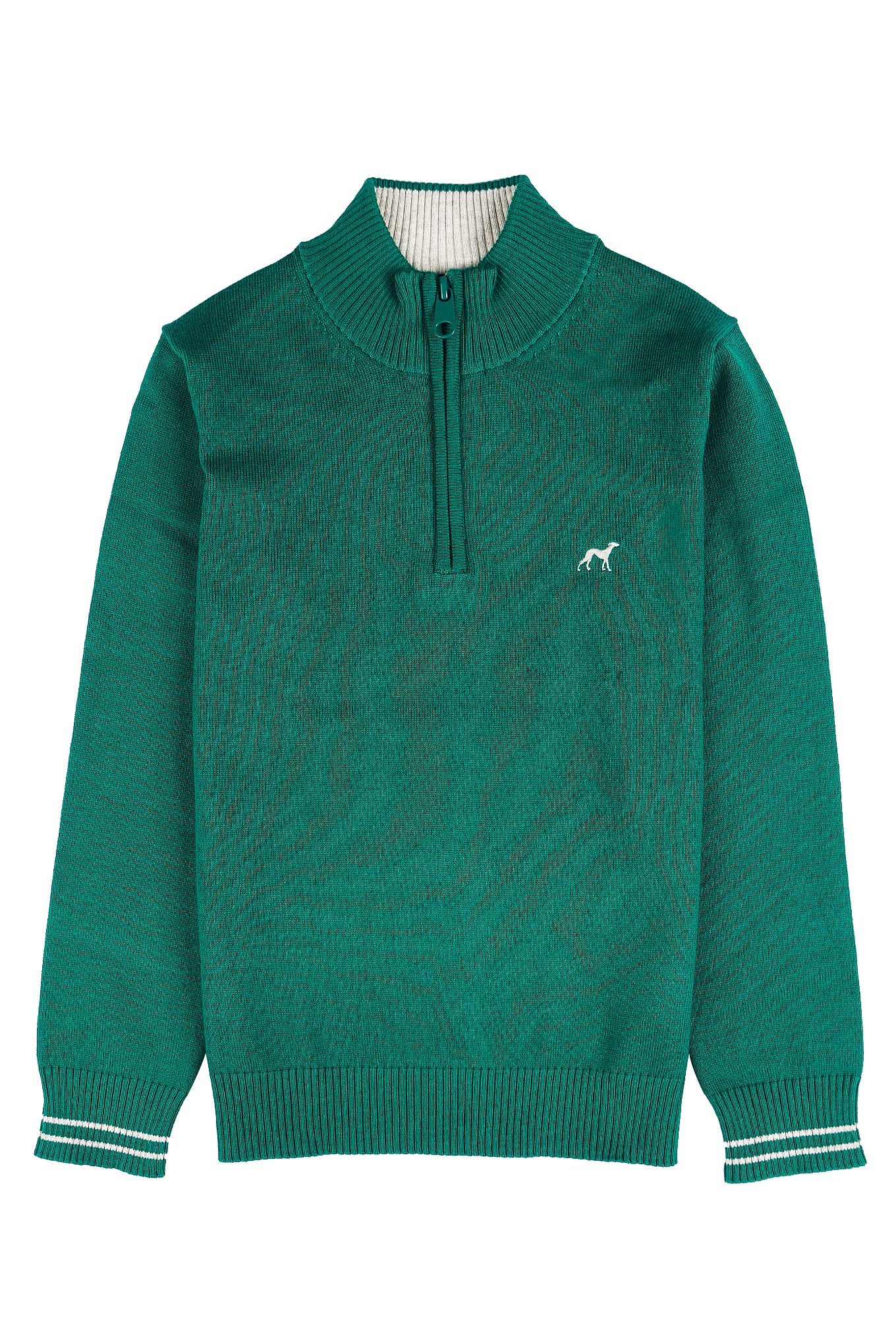 Sweater Green Casual Boy