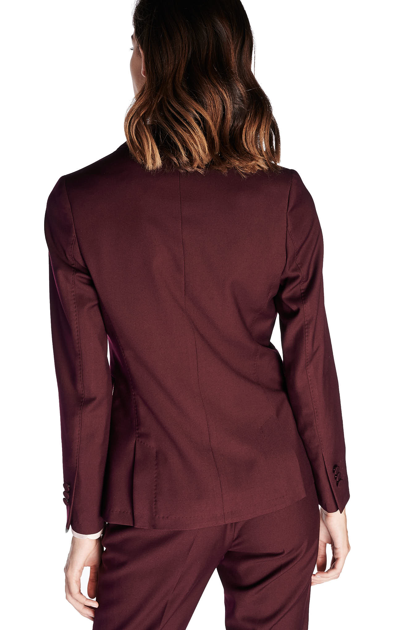 Suit Plum Classic Woman