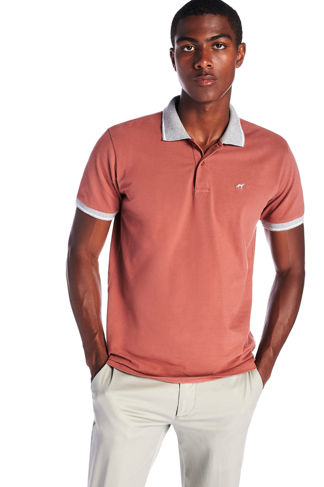 Polo Piquet Pink Sport Man