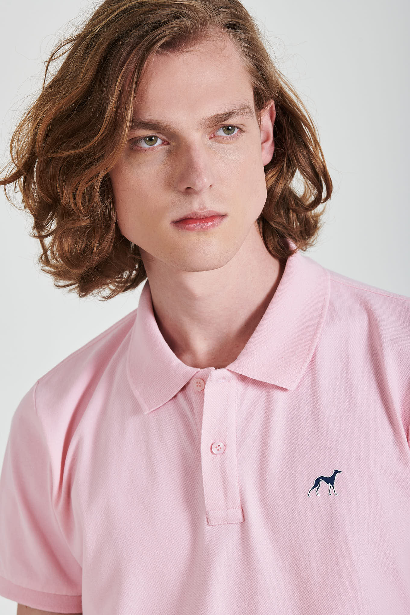 Polo Piquet Light Pink Sport Man
