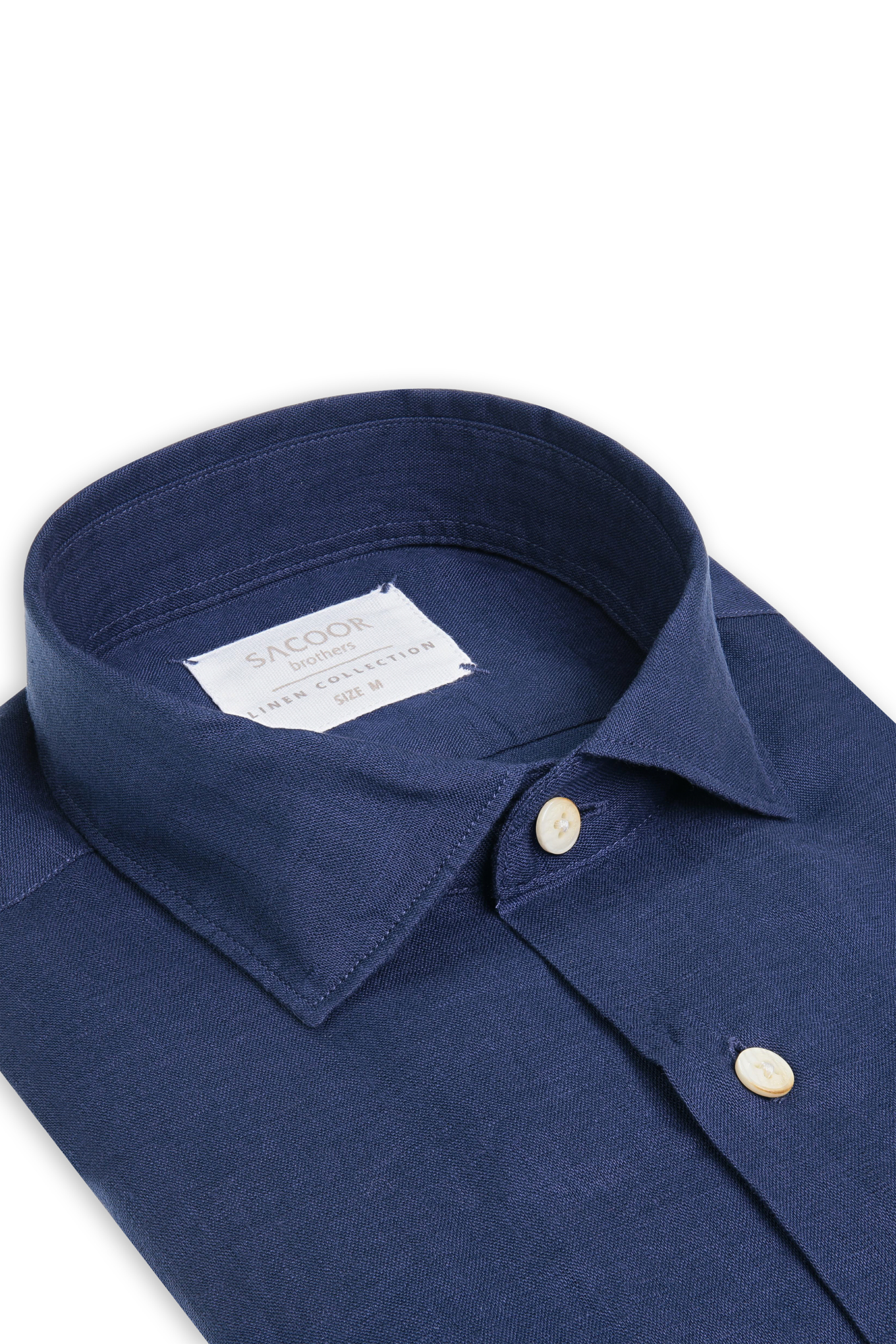 Shirt Dark Blue Casual Man
