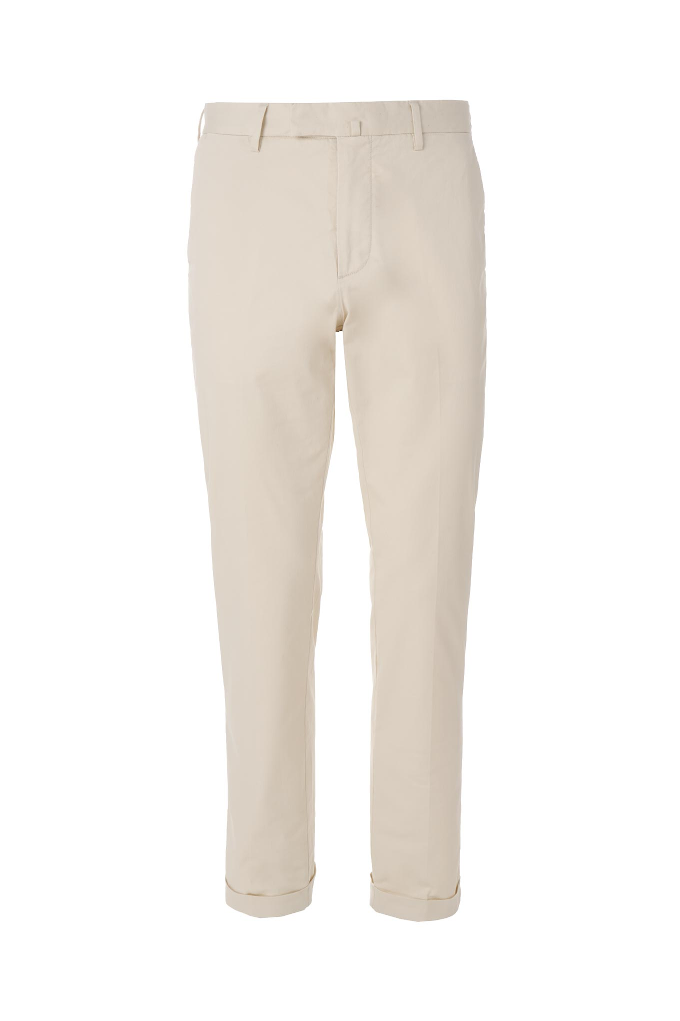 Chino Trousers Ecru Casual Man