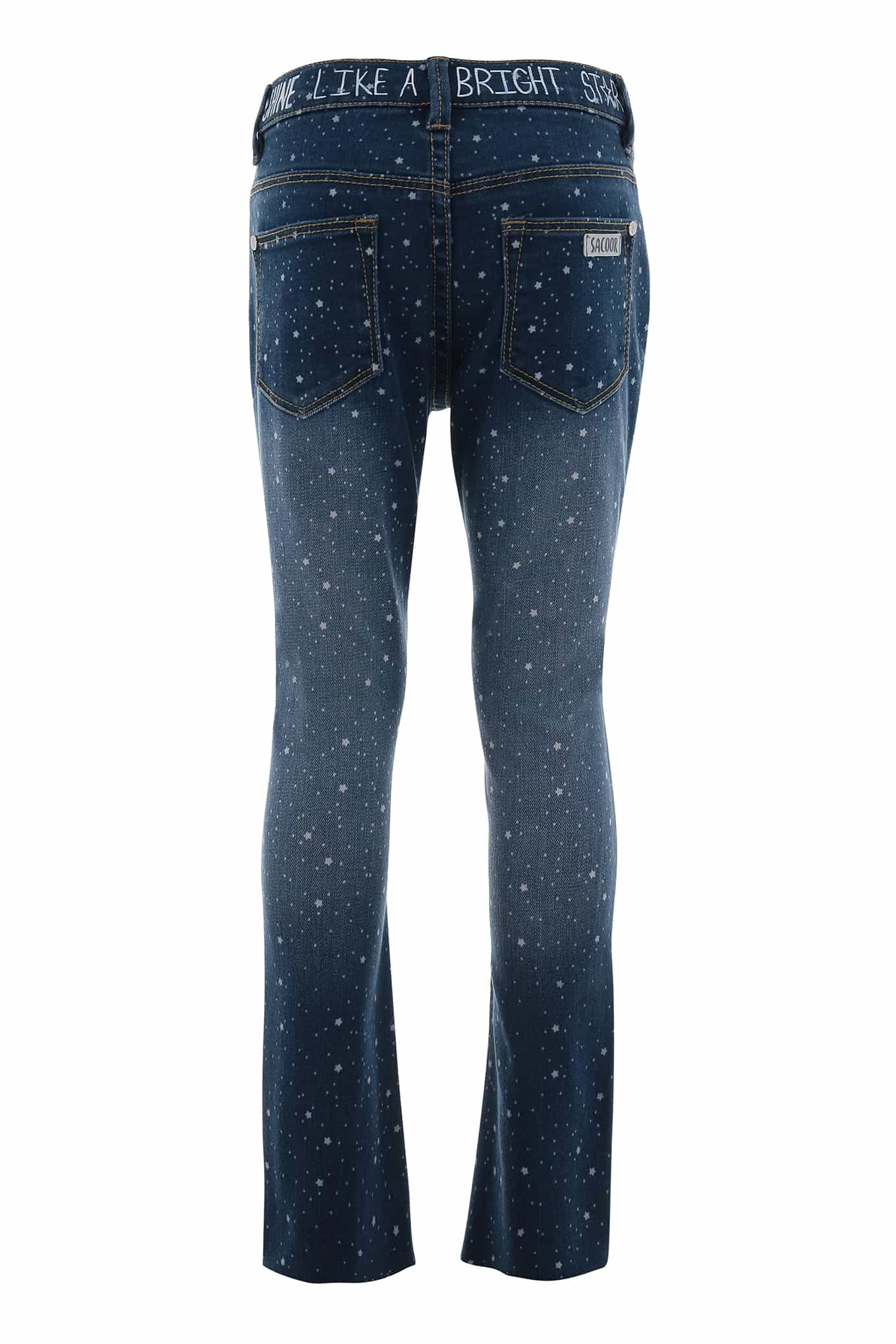 Jeans Medium Blue Casual Girl