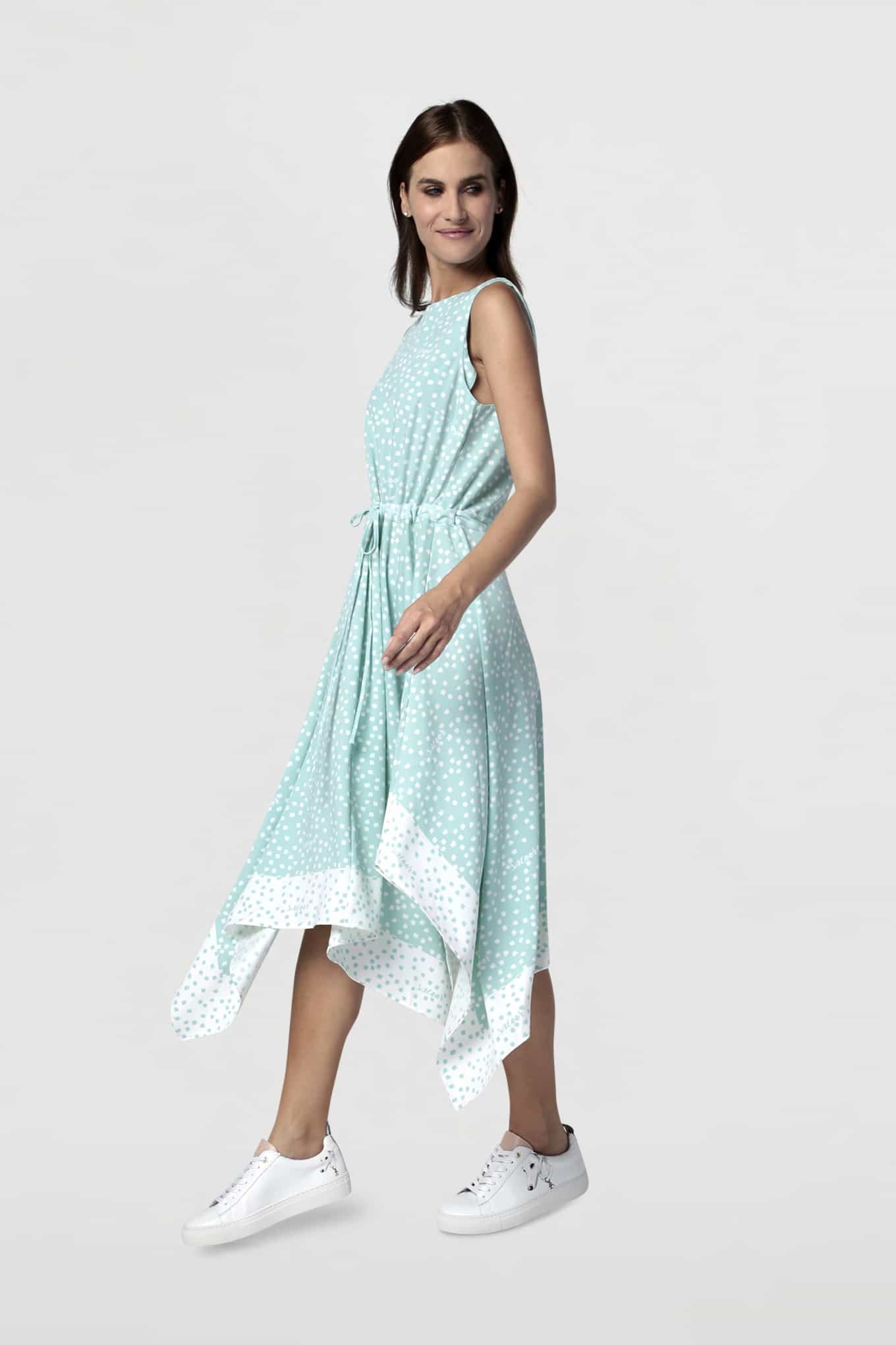 Dress Turquoise Fantasy Woman