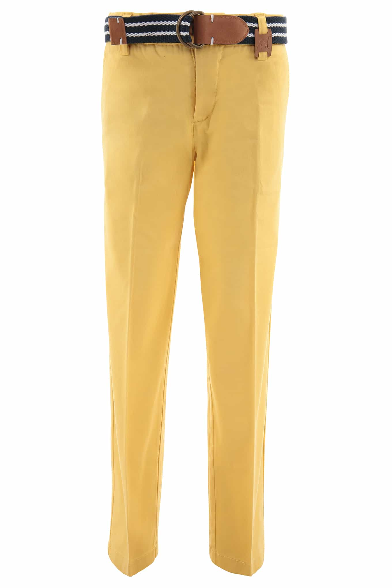 Chino Trousers Light Yellow Sport Boy