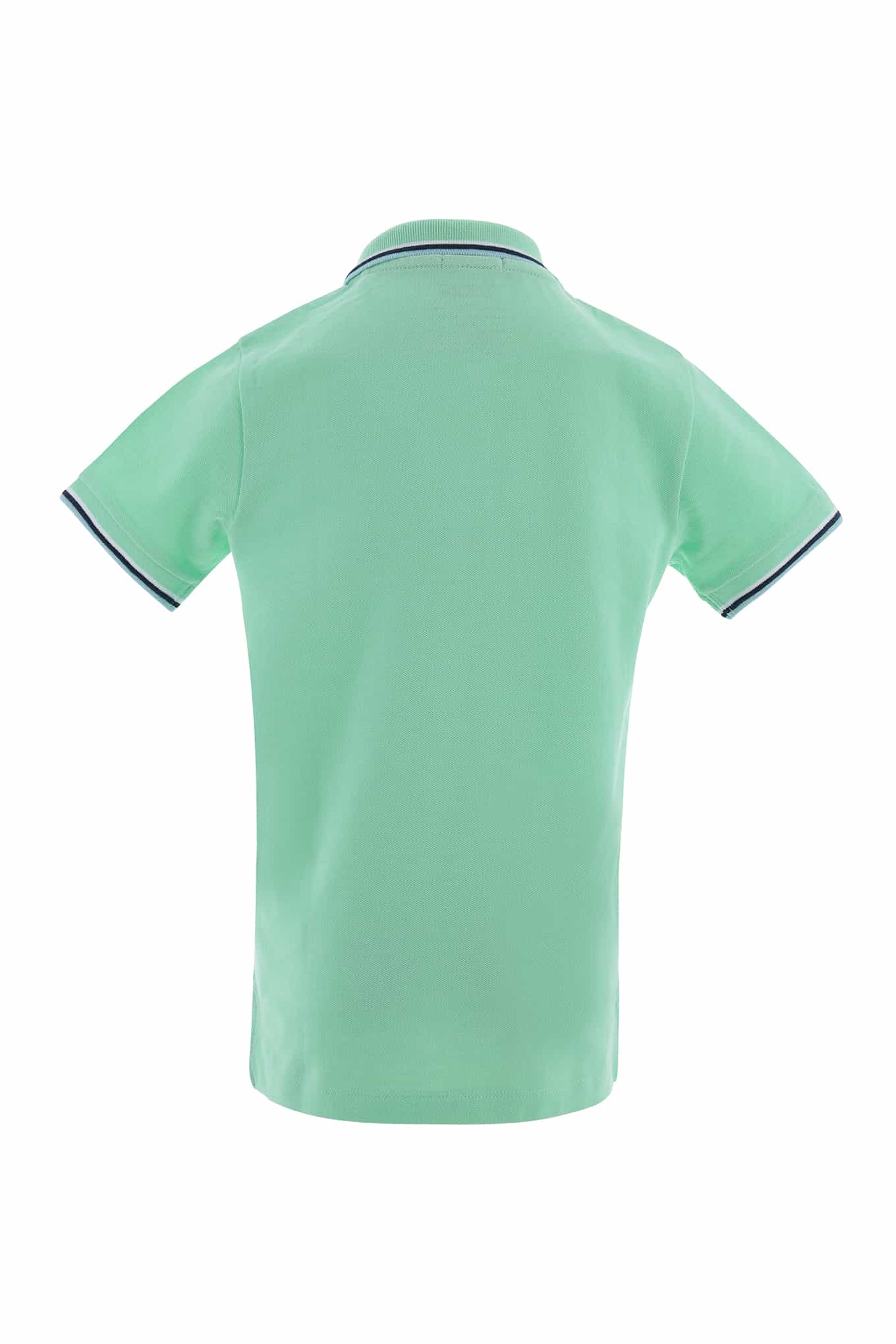 Polo Piquet Light Green Sport Boy